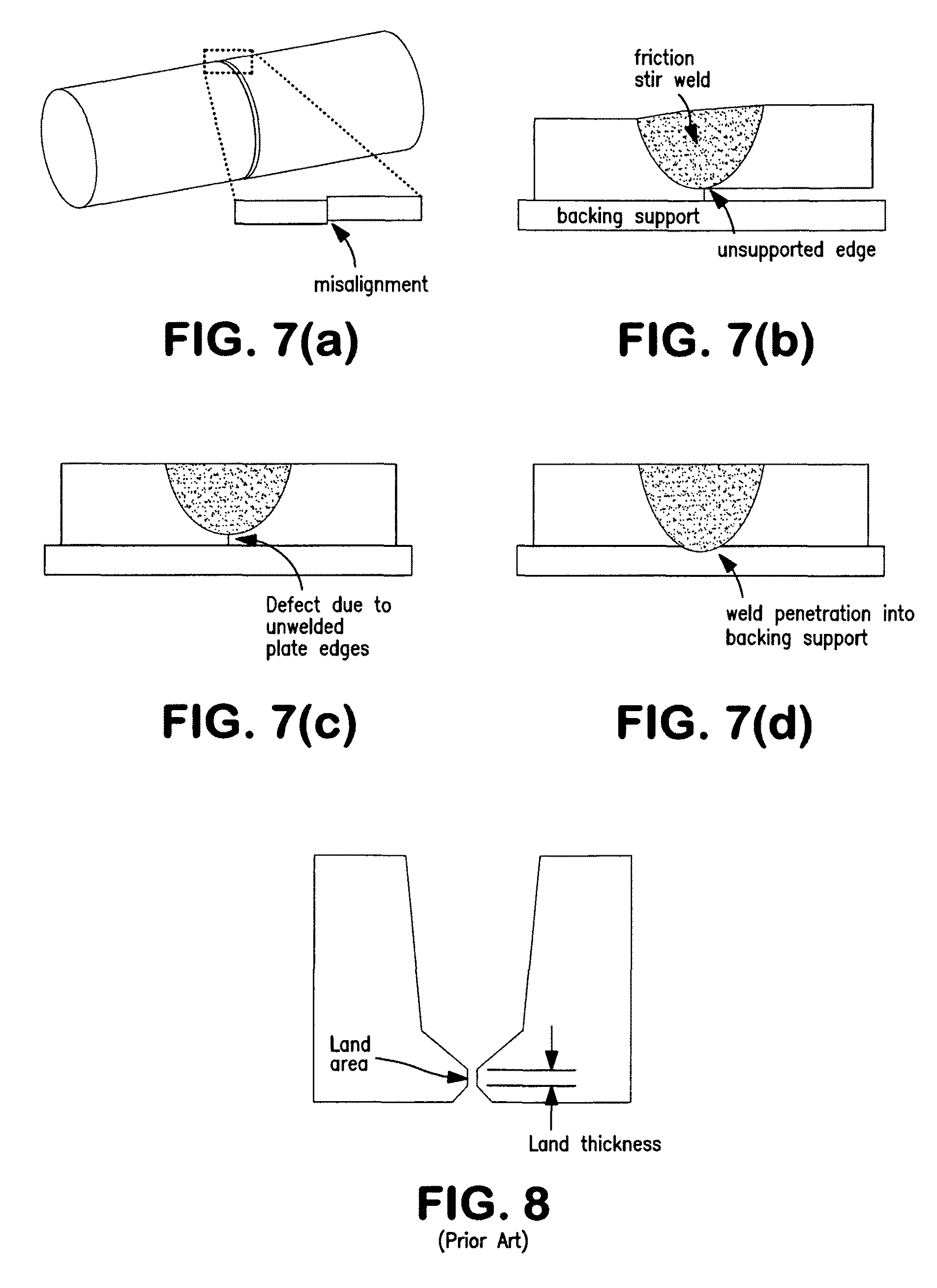 Patent Us7874471 Butt Weld And Method Of Making Using