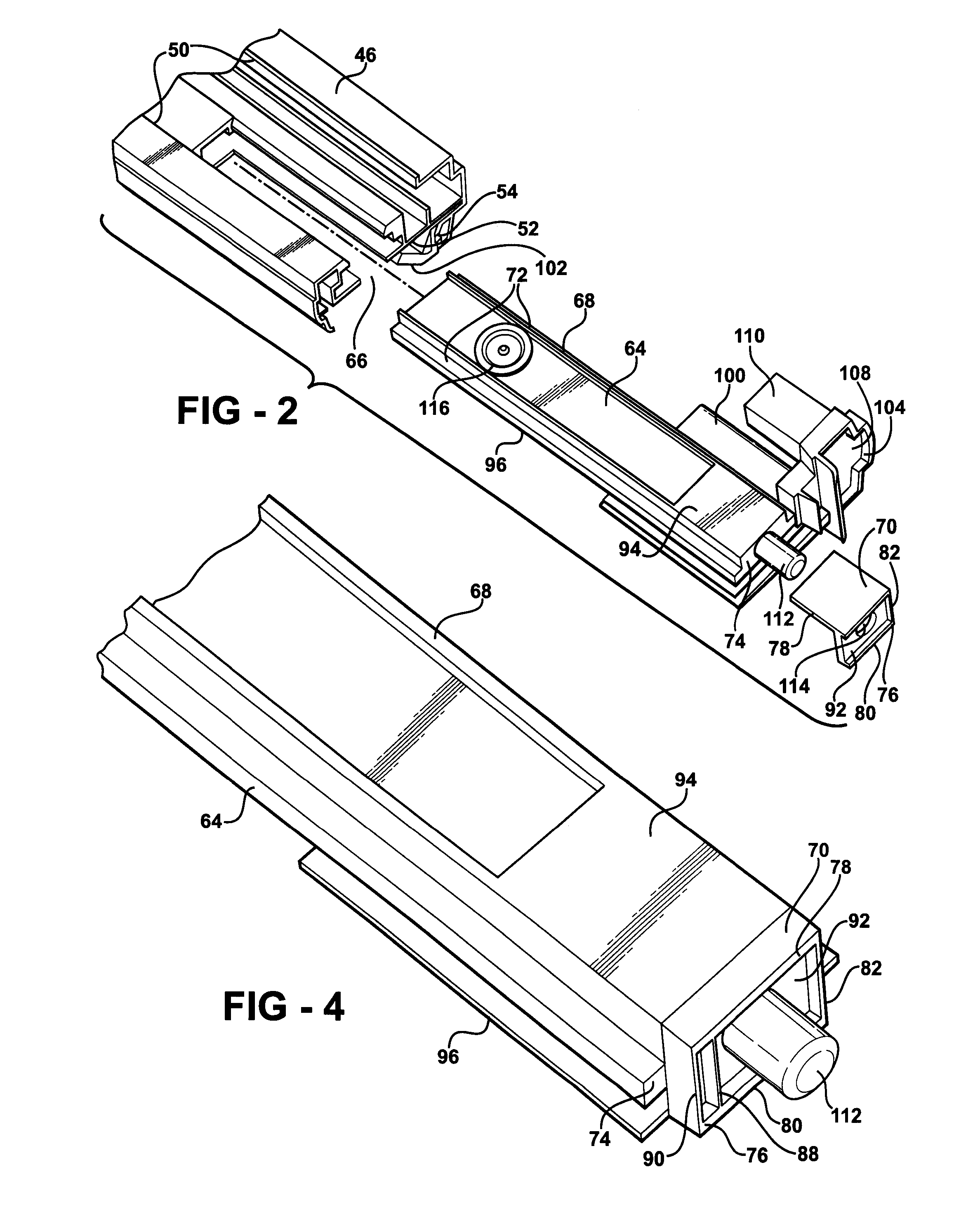 patent us7878559 lock block assembly for an astragal patents Turbo Wii patent drawing
