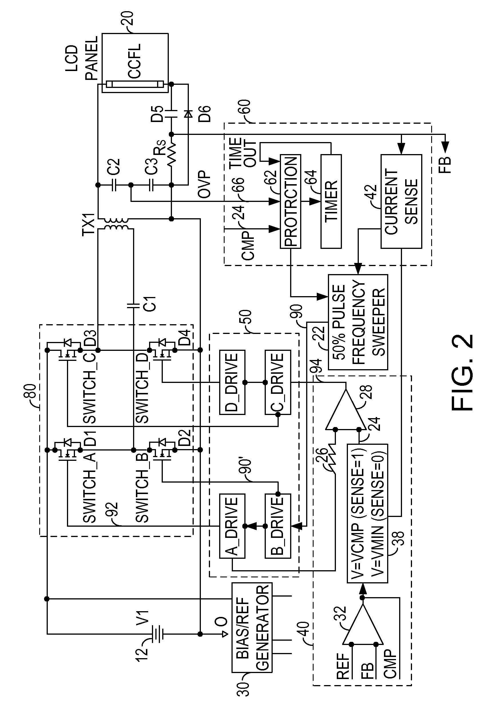 patent us7881084  ac cold cathode fluorescent lamp