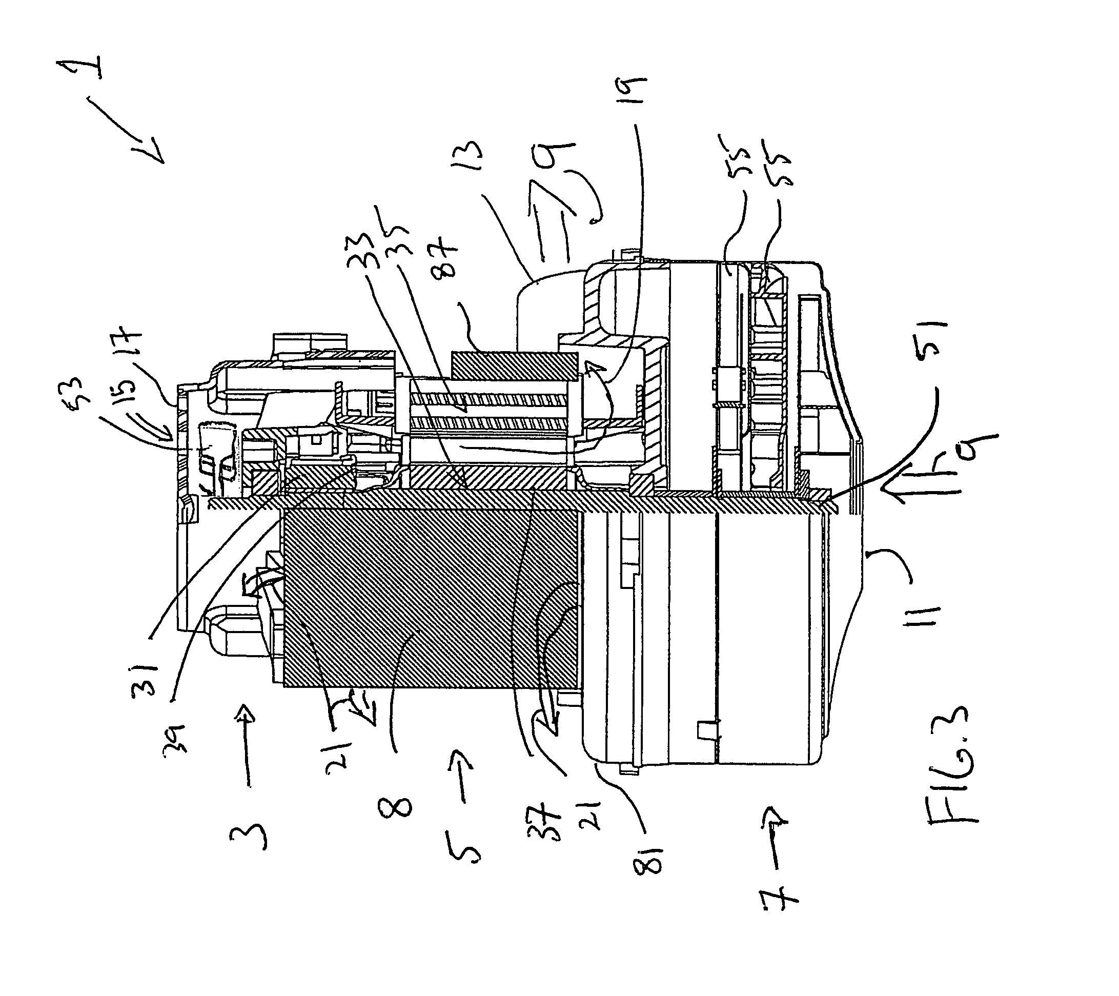 Patent Us7900315 Integrated Central Vacuum Cleaner