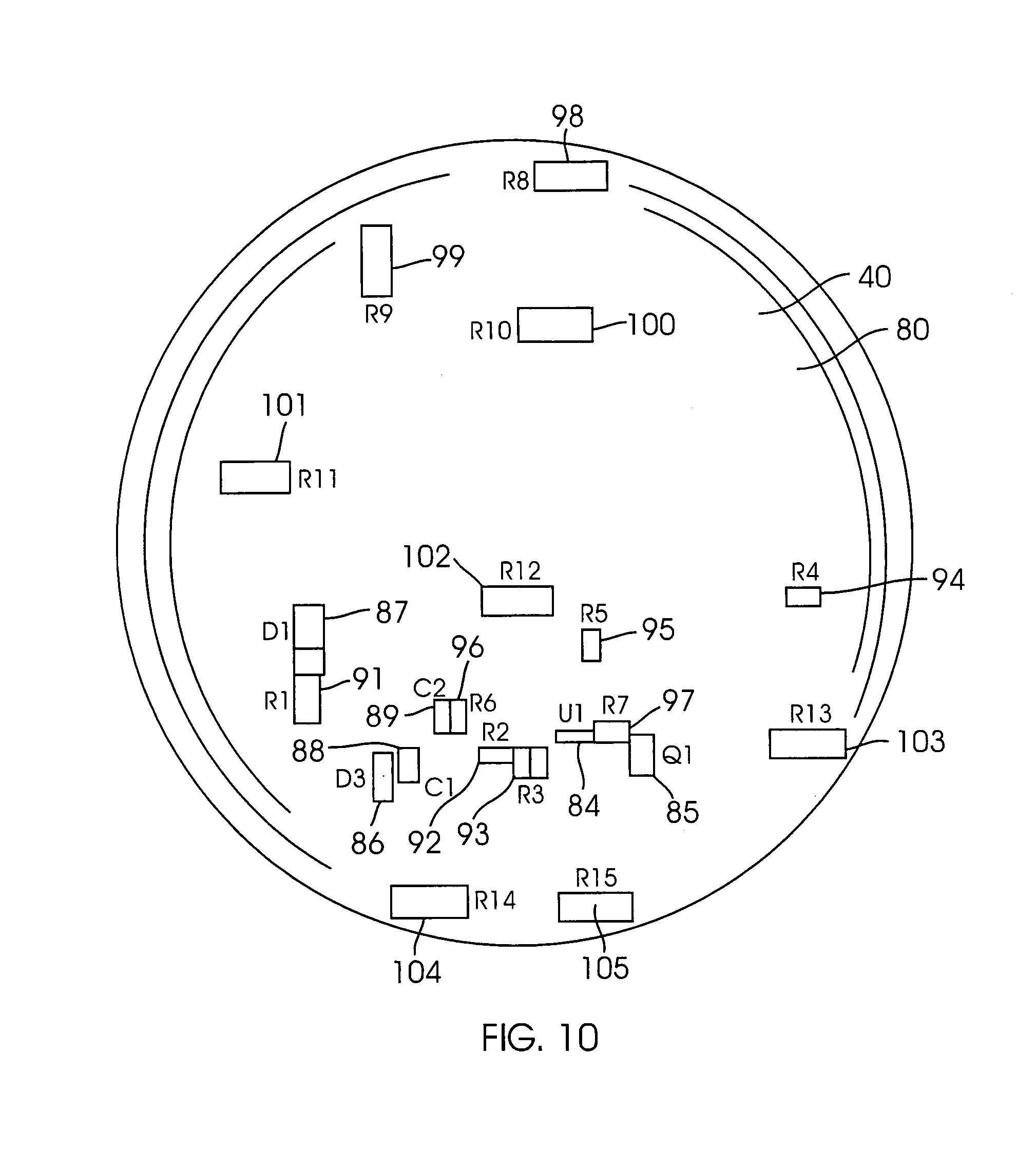 patent us7914162 - led light assembly having heating board