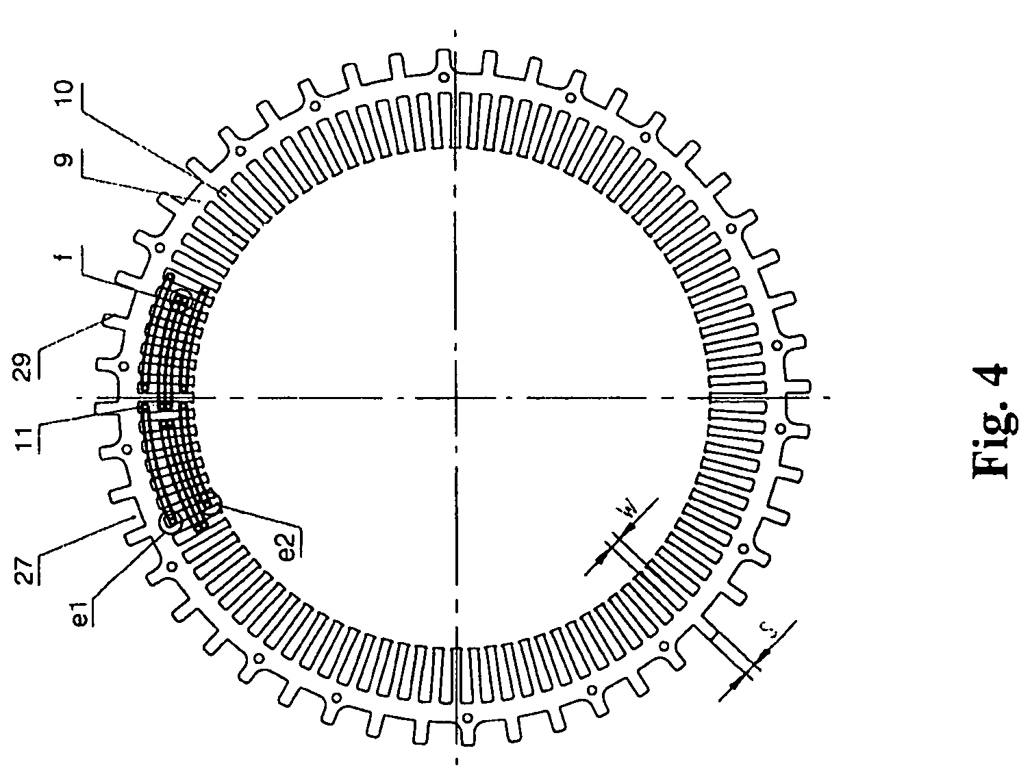 patent us7915783 - brushless alternator with claw pole rotor