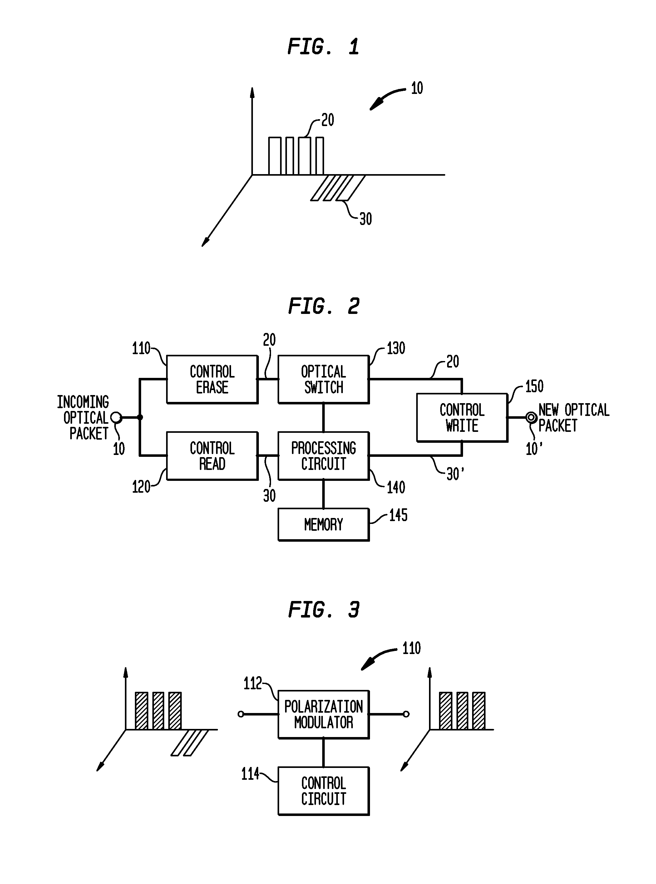 Patent US7920790 - Polarization envelope modulation for