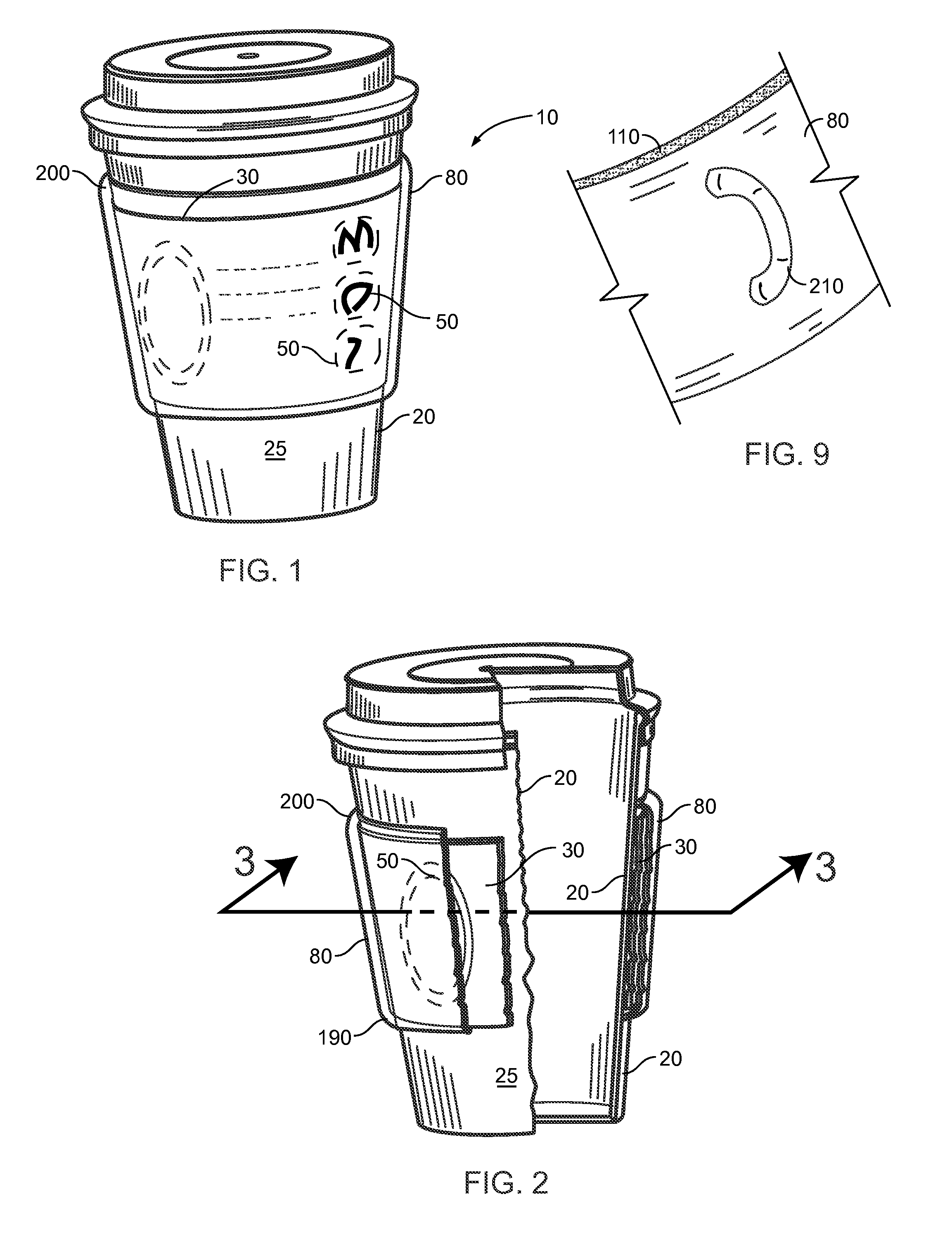 Paper Coffee Cup Sleeve Template