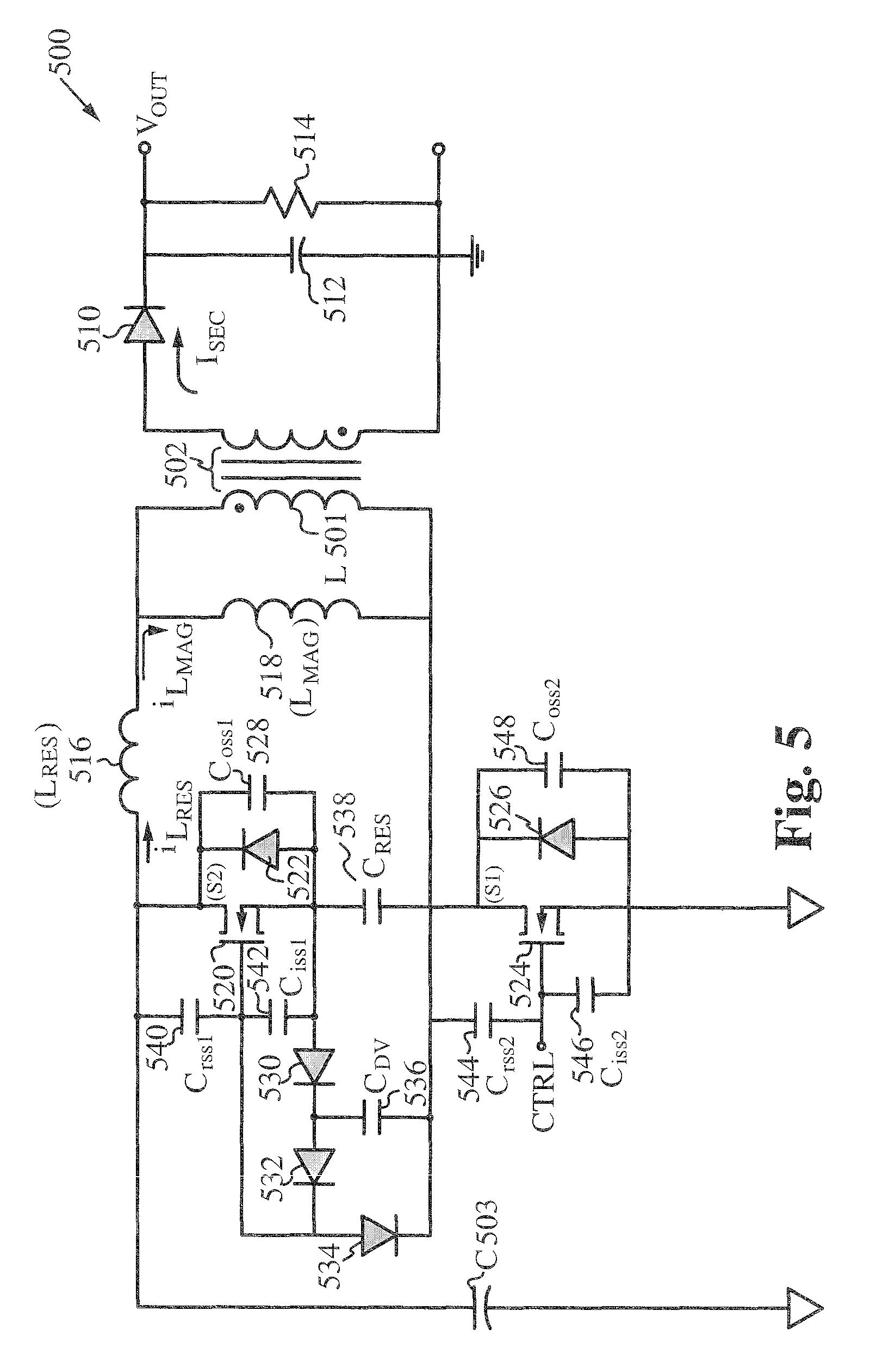 patent us7924578 - two terminals quasi resonant tank circuit
