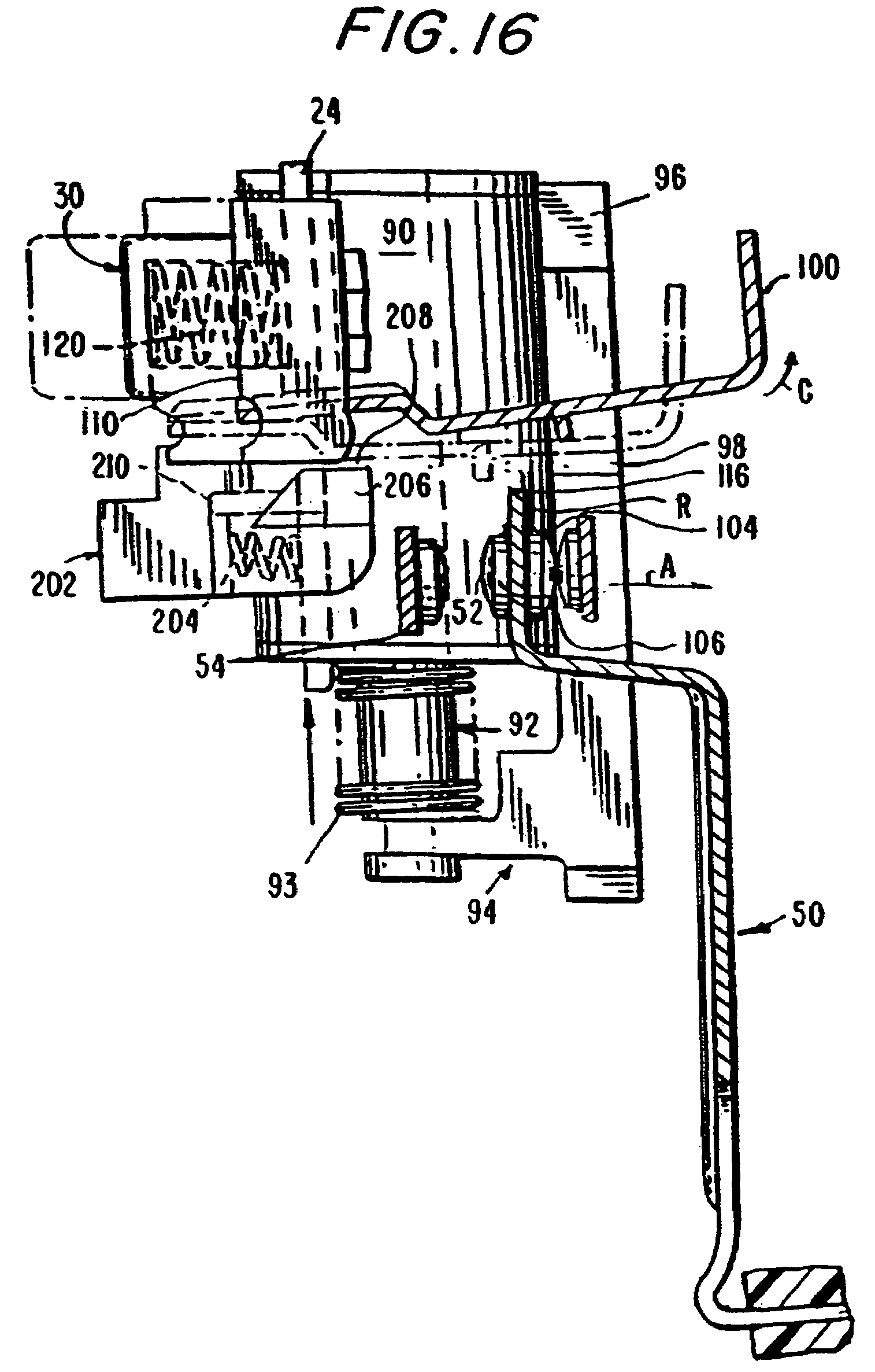 patent us7944331 circuit interrupting device with reverse wiring 220 Plug Wiring patent drawing