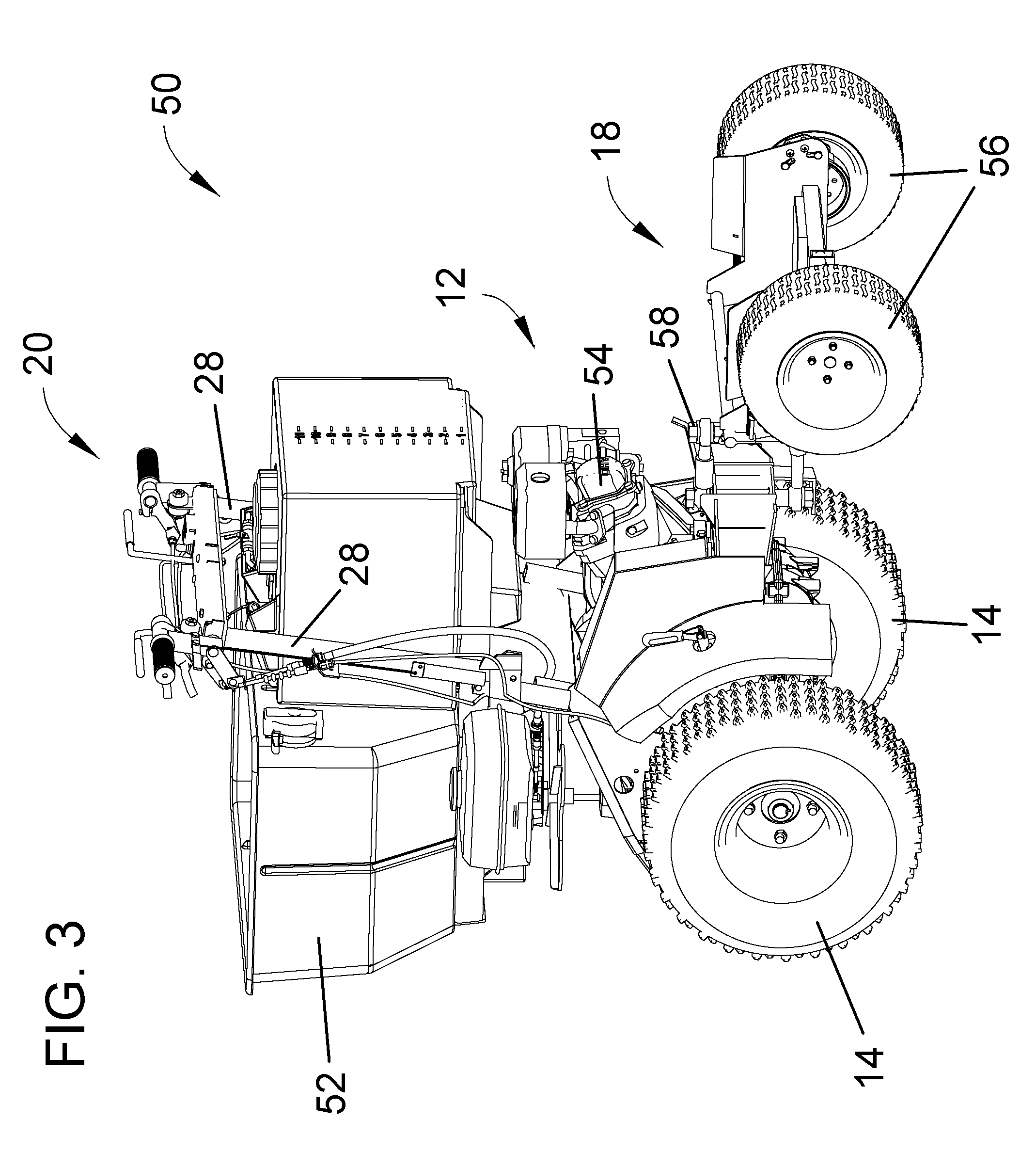 Patent US7954573 - Drive-steering control system and