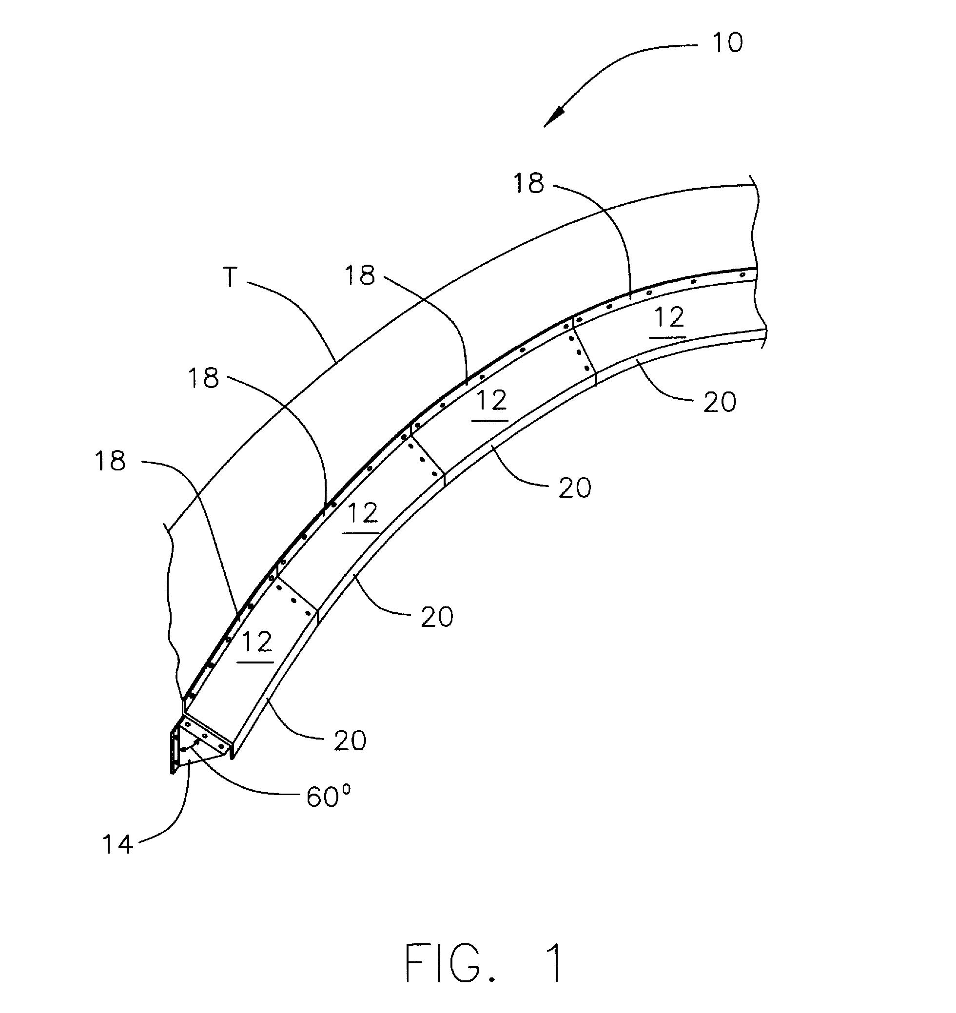 Us7971731 Density Baffle For Clarifier Tank 2006 Cobalt Transmission Wiring Diagram Patent Drawing