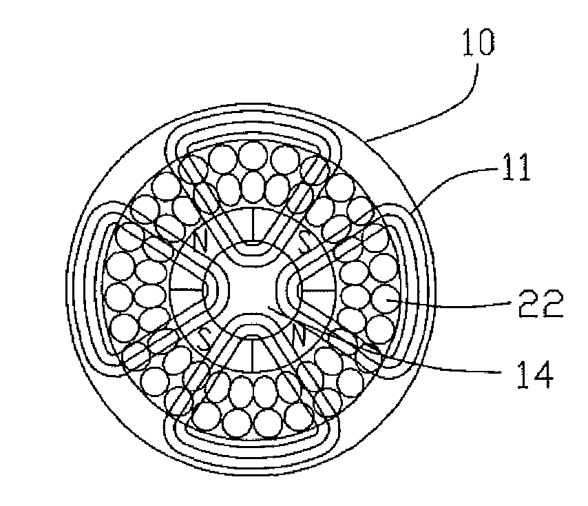 Patent Us7977840 Stator Winding For A Slotless Motor