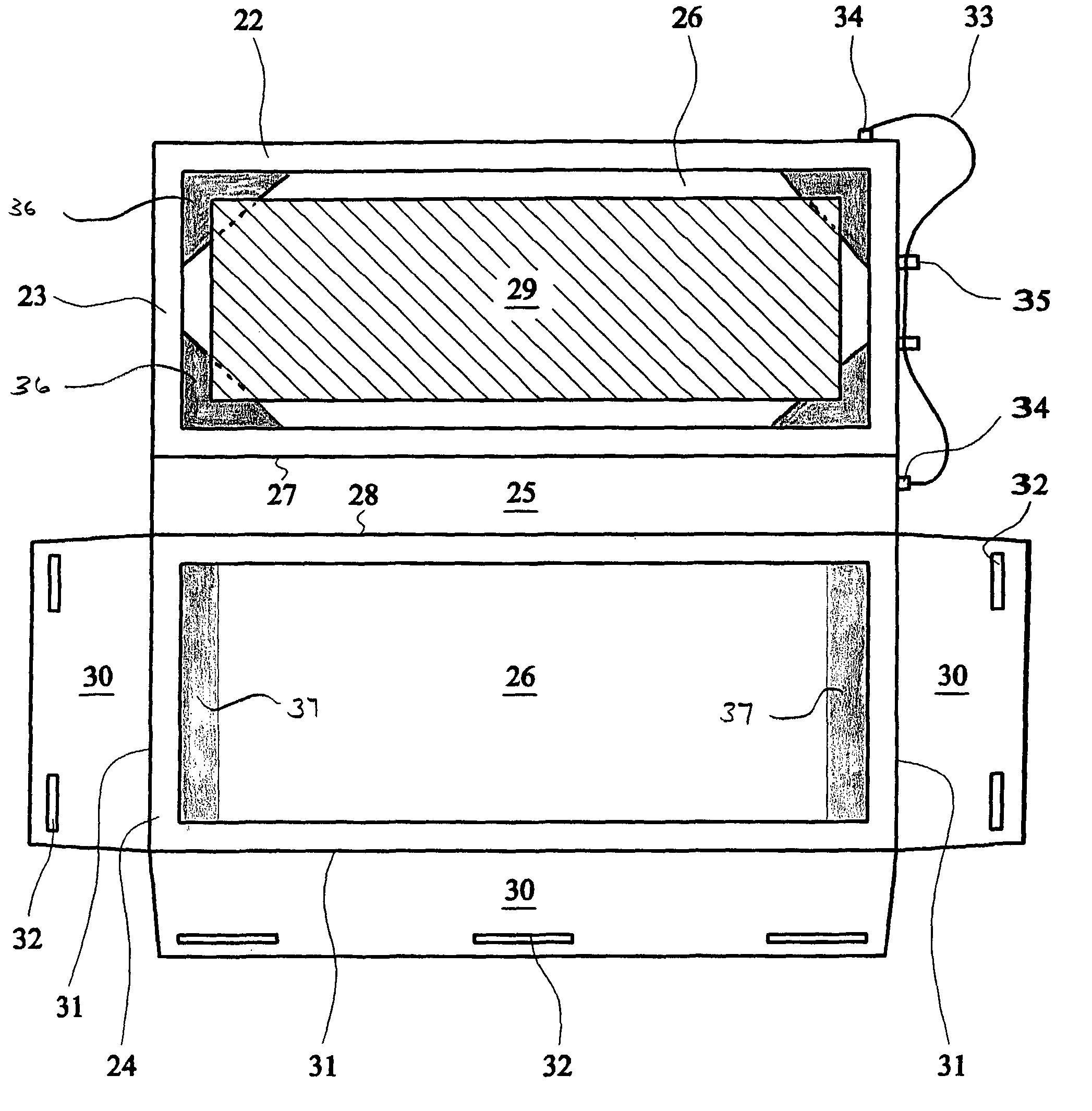 Patent Us7980761 Sleeve Google Patenten Jr Foldable Travel Bag Wide 21 Drawing