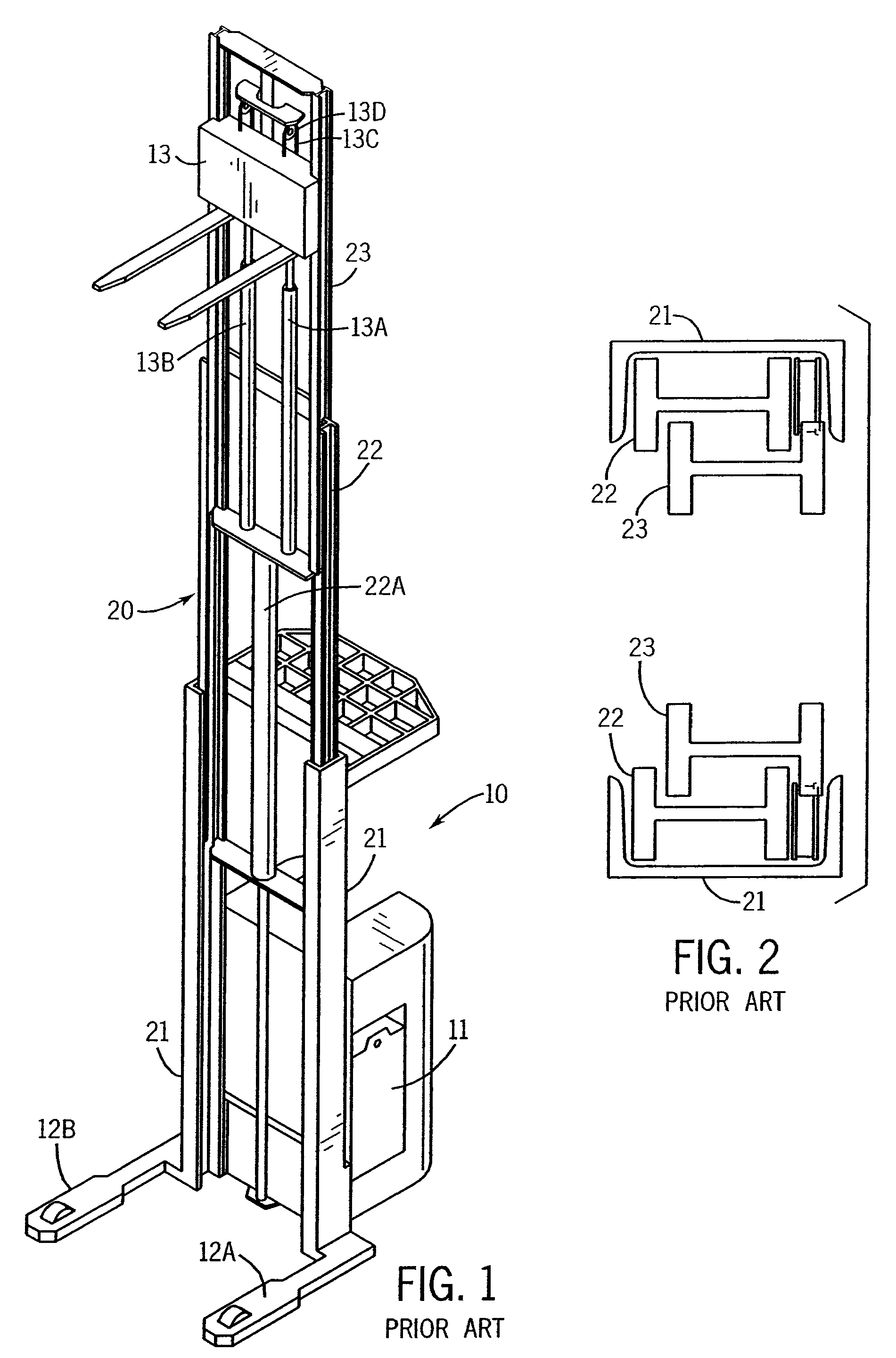 Patent Us7984793 Mast Construction For A Lift Truck