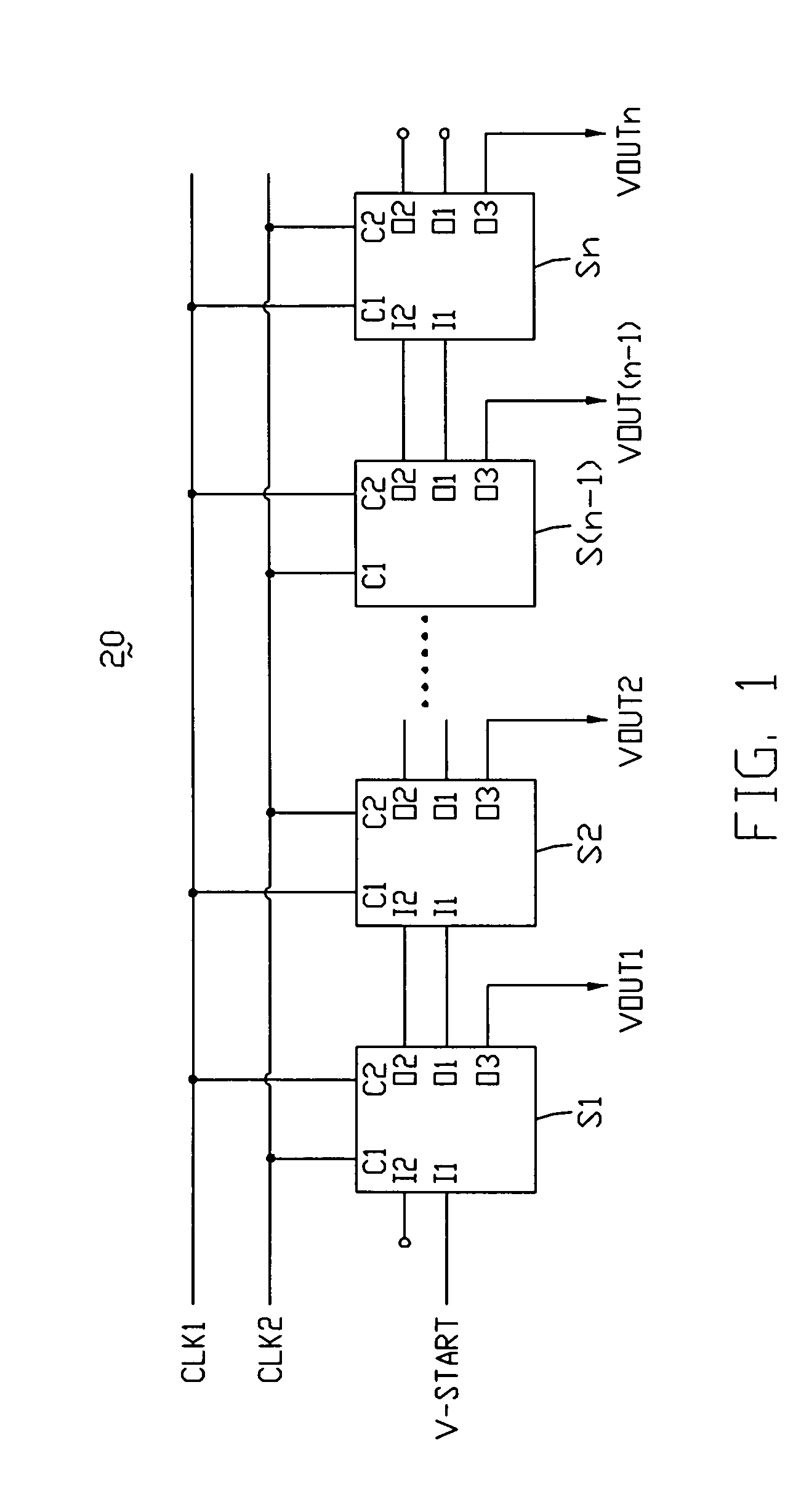 Patent Us7986761 Shift Register And Liquid Crystal Display Device Circuit Diagram Drawing