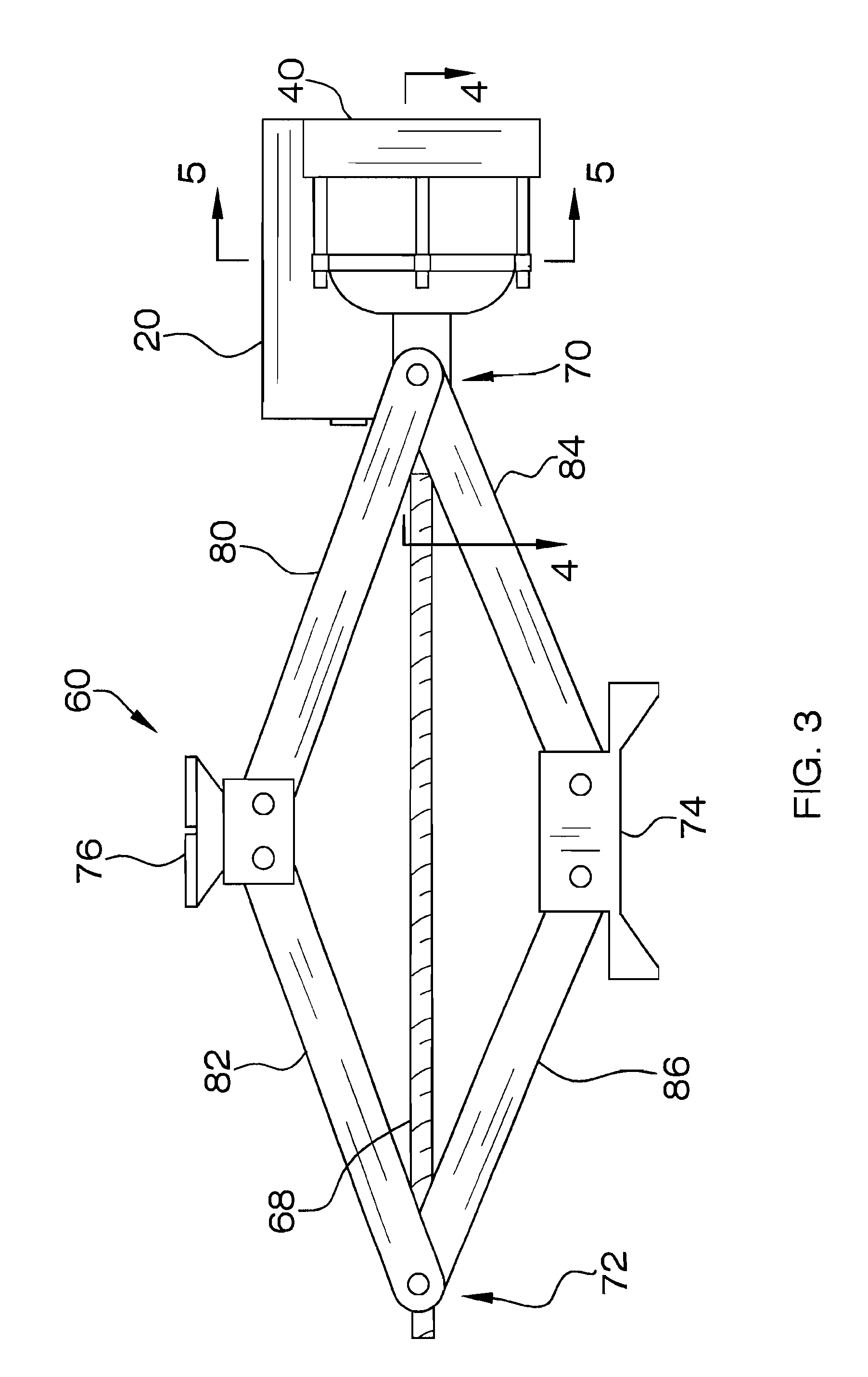 Patent US7988131 - Electric scissor jack apparatus - Google Patents