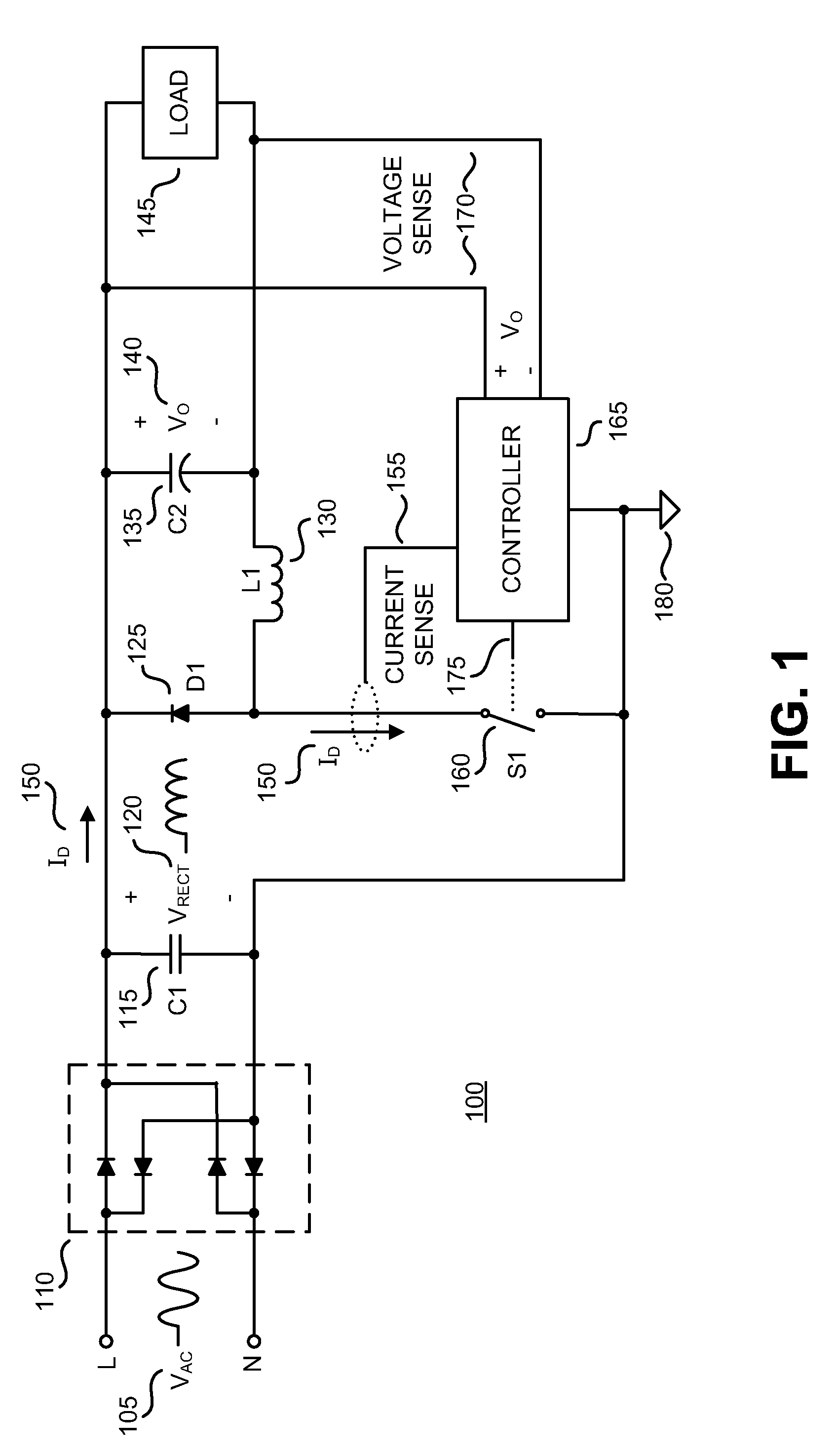 Patent Us7990127 Method And Apparatus For Ac To Dc Power 120 Kv Fullwave Multiplier Circuit Drawing