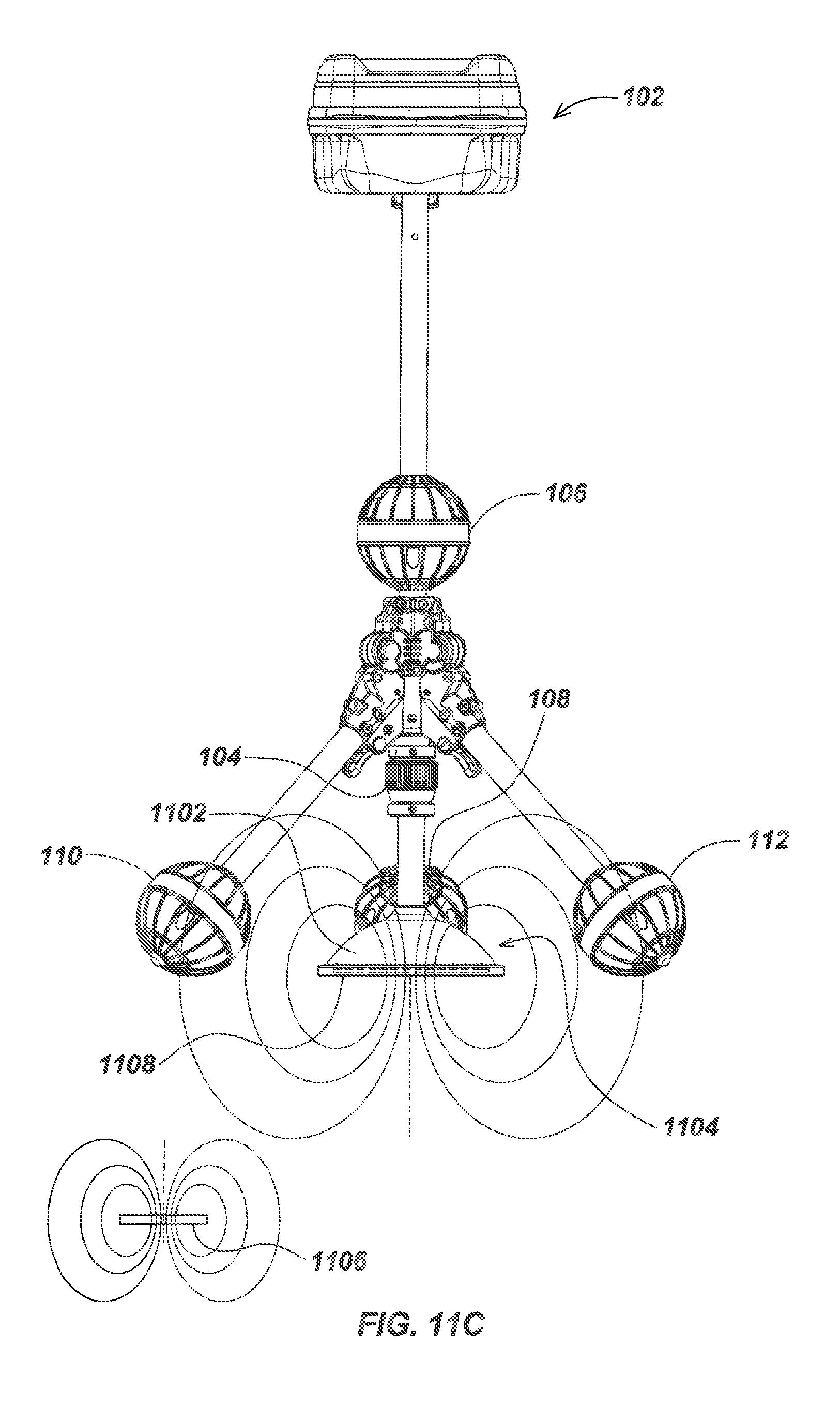 patent us7990151 - tri-pod buried locator system