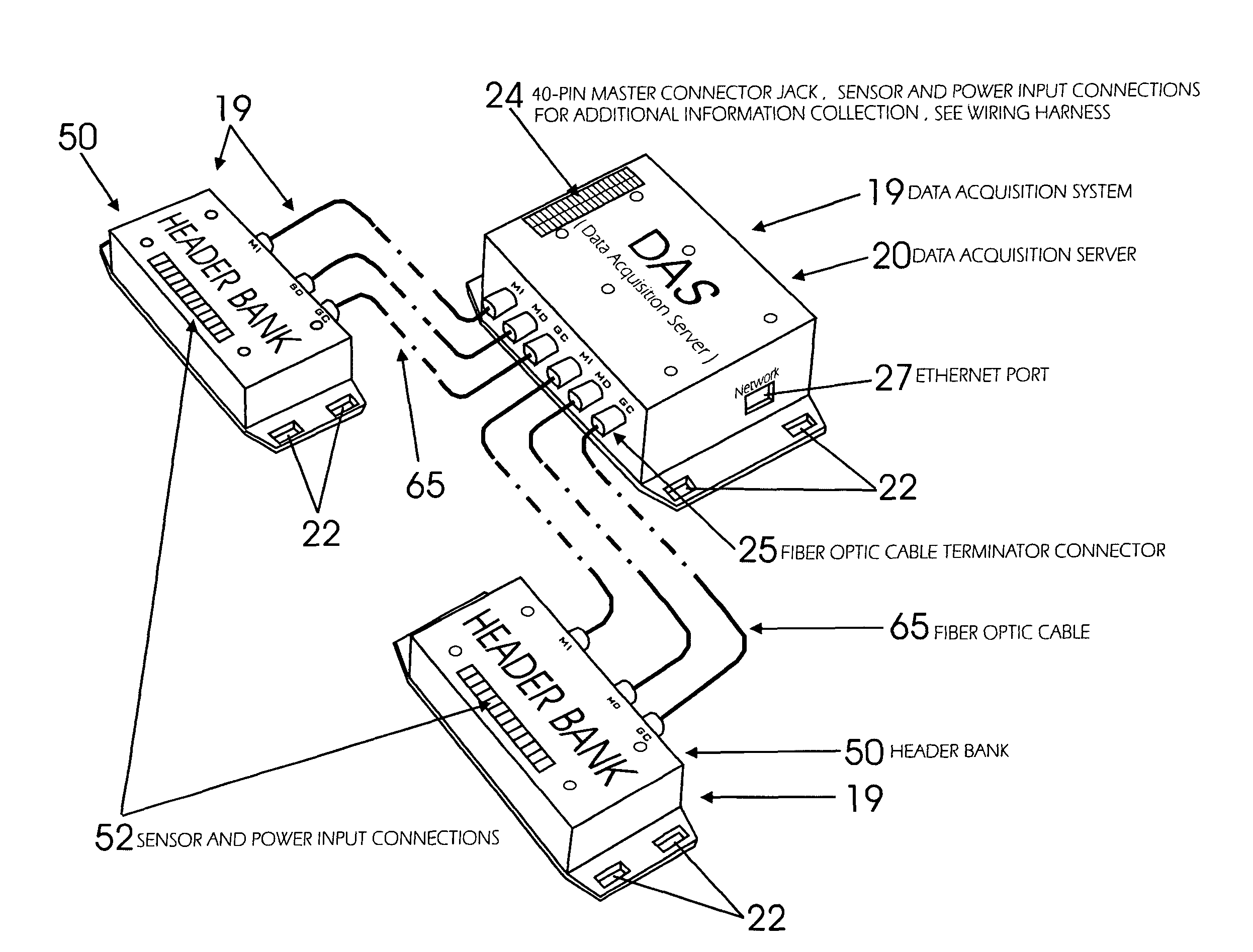 Patent Us7991535 Portable Palm Sized Data Acquisition System For Drawing Wiring Harness Connection