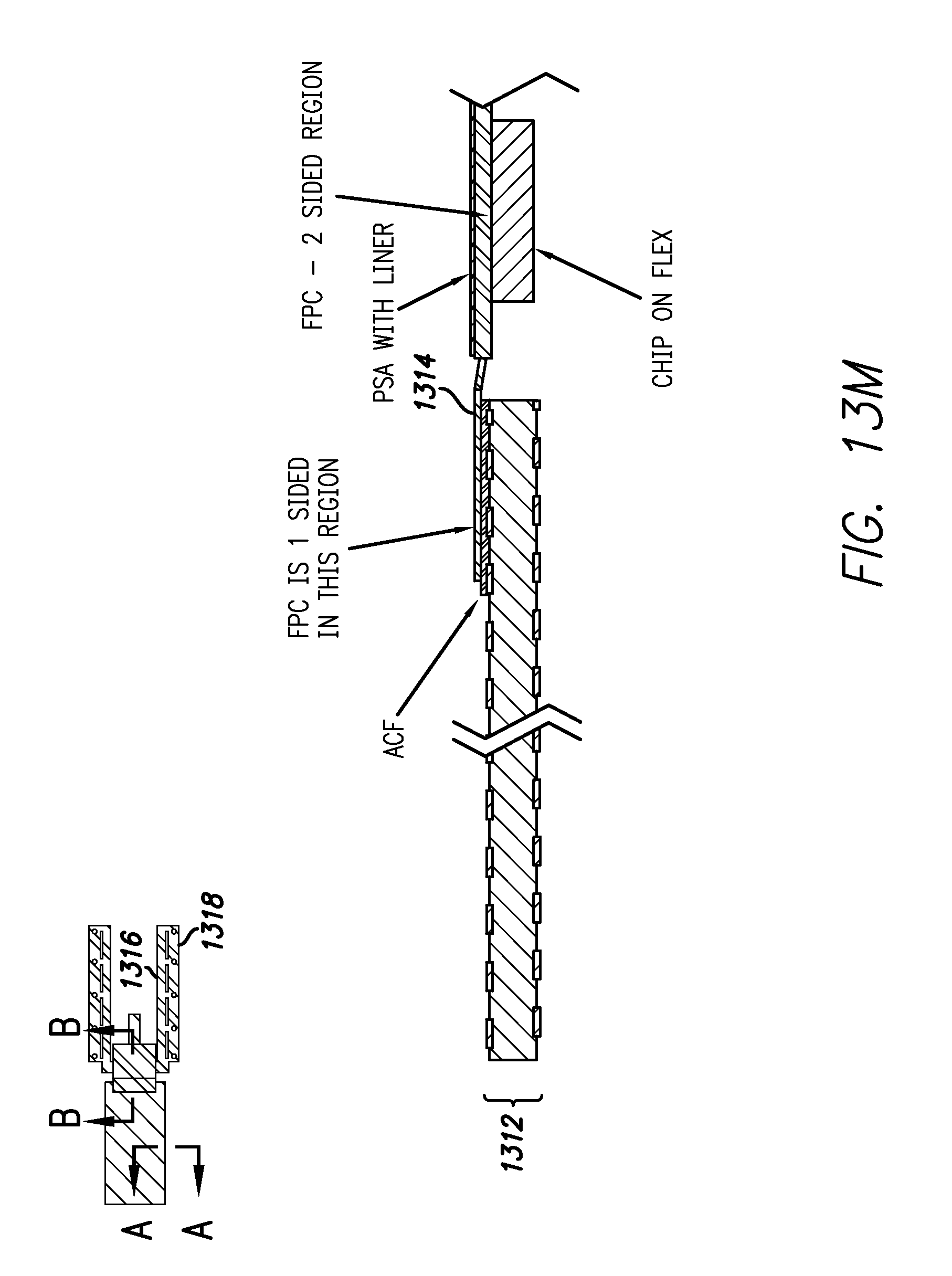 patent us7999795 - double-sided touch sensitive panel and flex circuit bonding