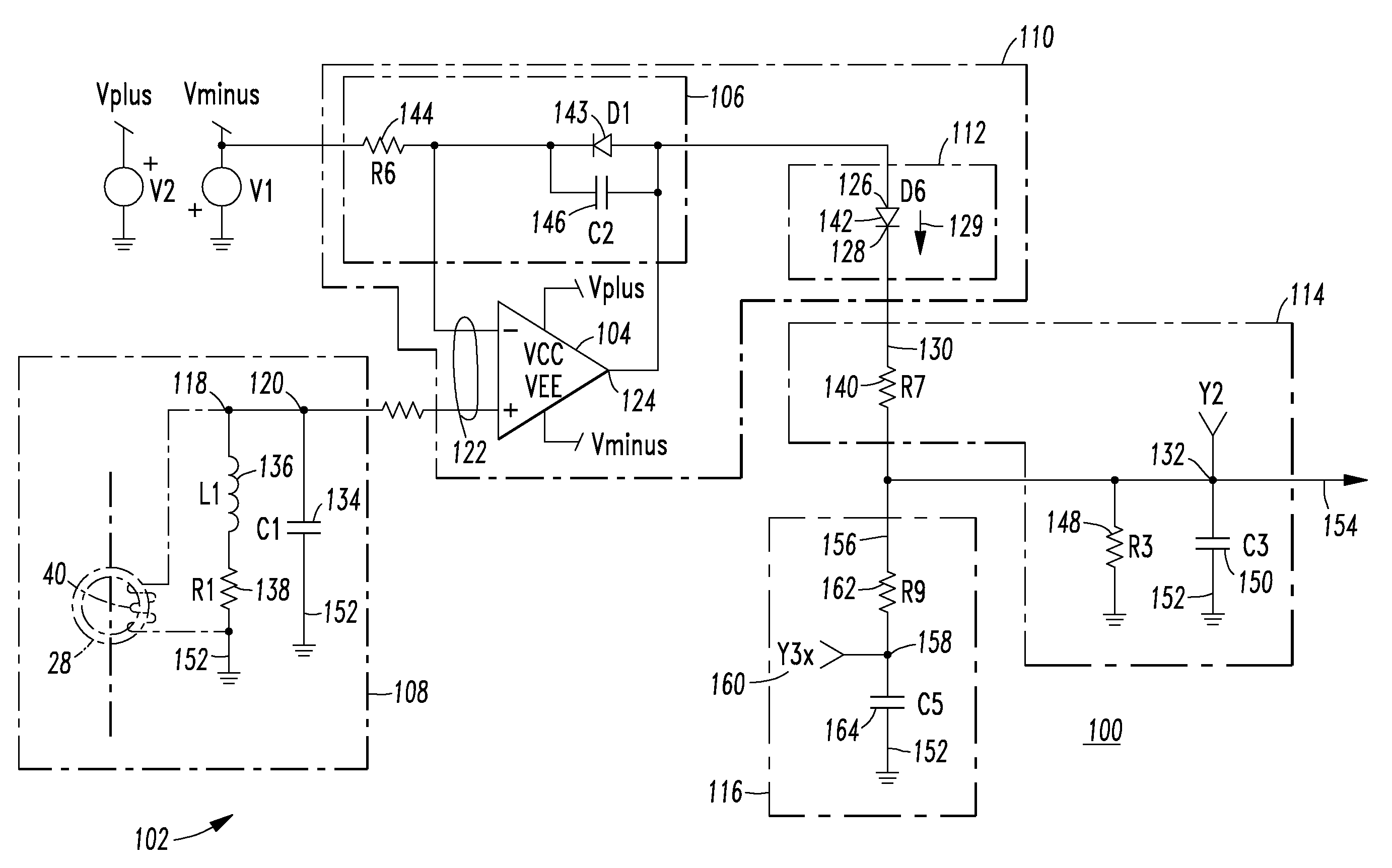 patent us8004802 operational amplifier circuit and arc fault rh google com pg