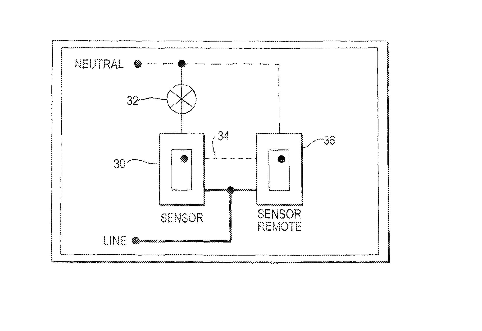 line voltage occupancy sensor wiring diagram occupancy
