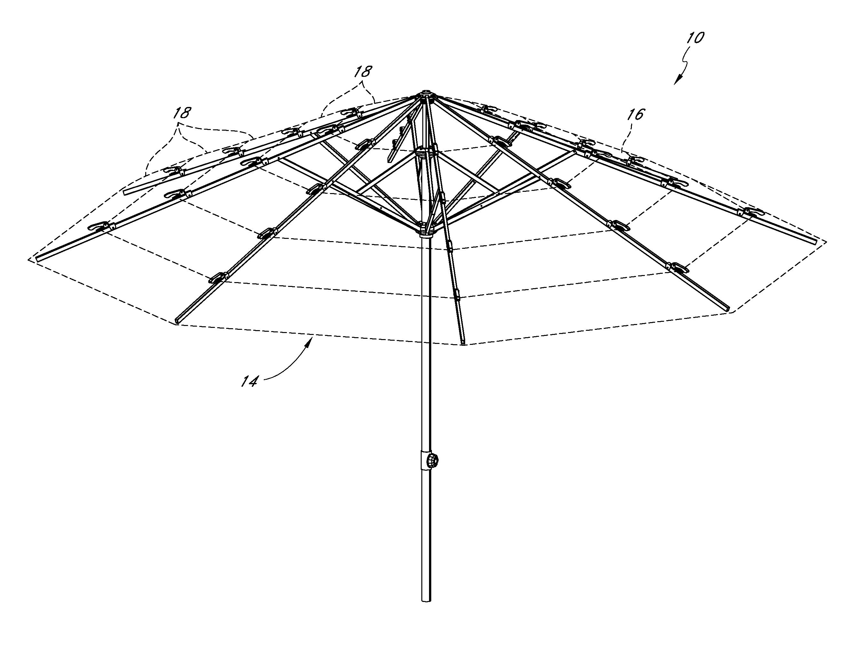 Patent us8020572 umbrella structure google patents Architecture upbrella
