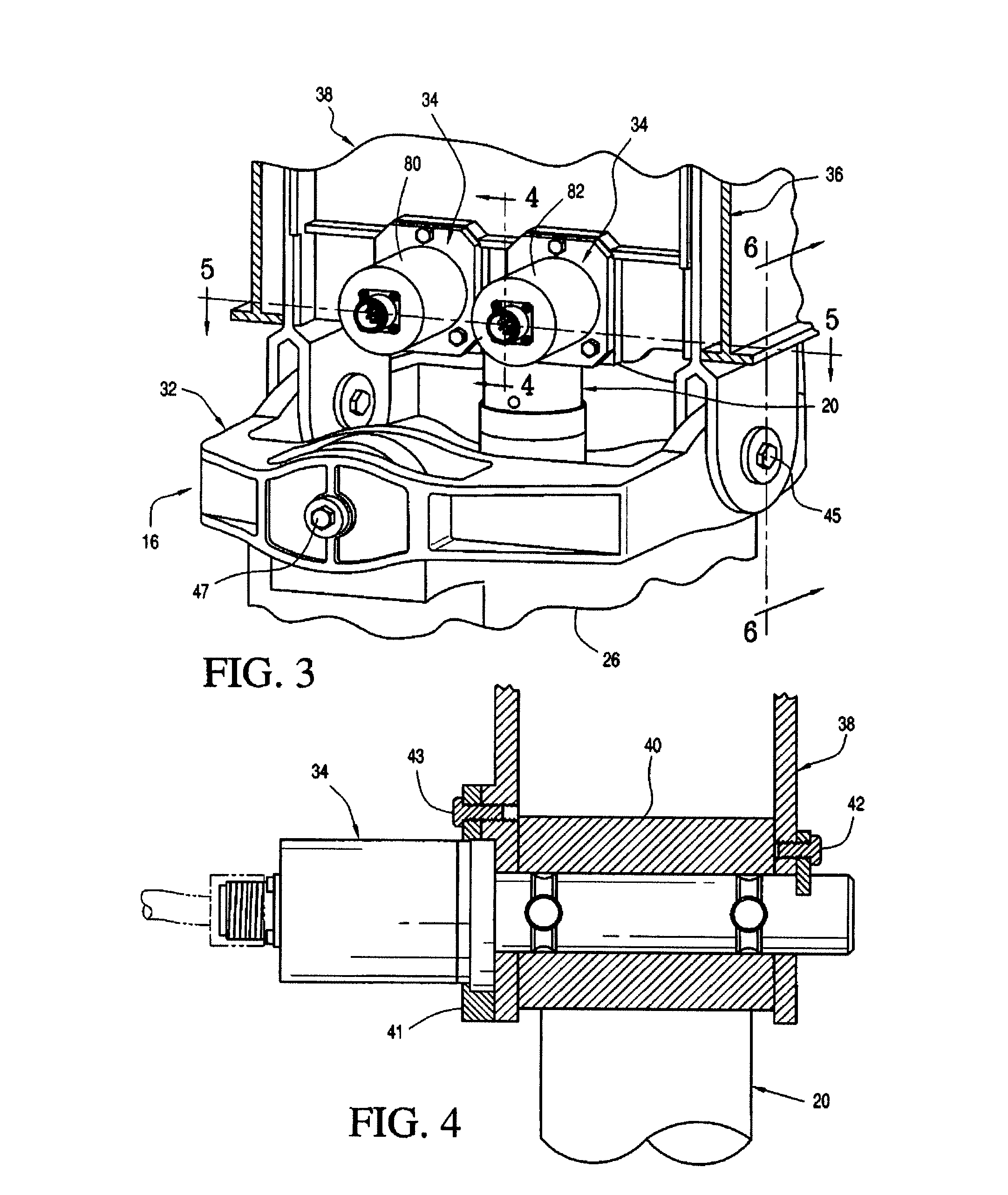 patent us8033500 - actuator load path monitoring system