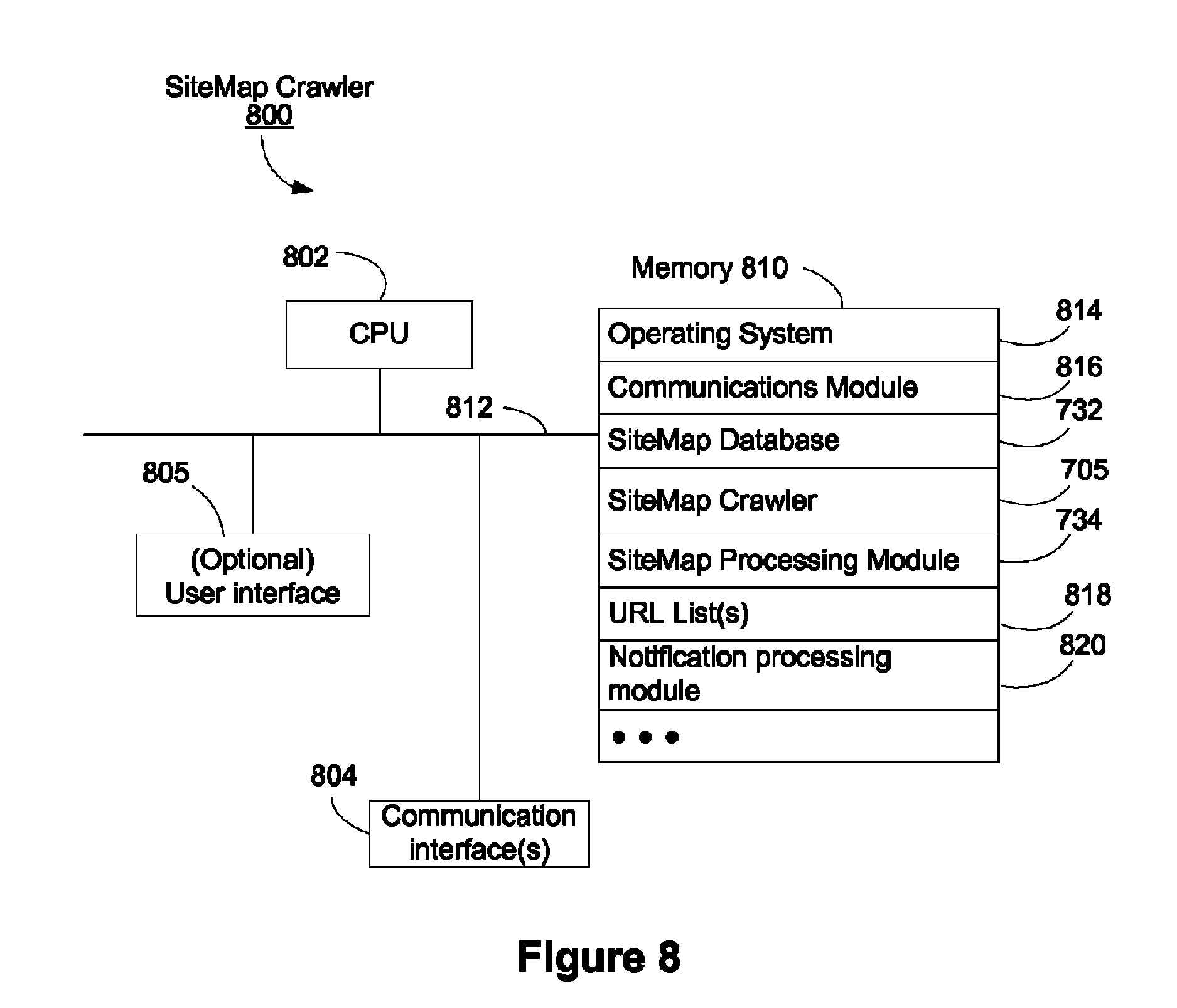 patent us8037054 web crawler scheduler that utilizes sitemaps from