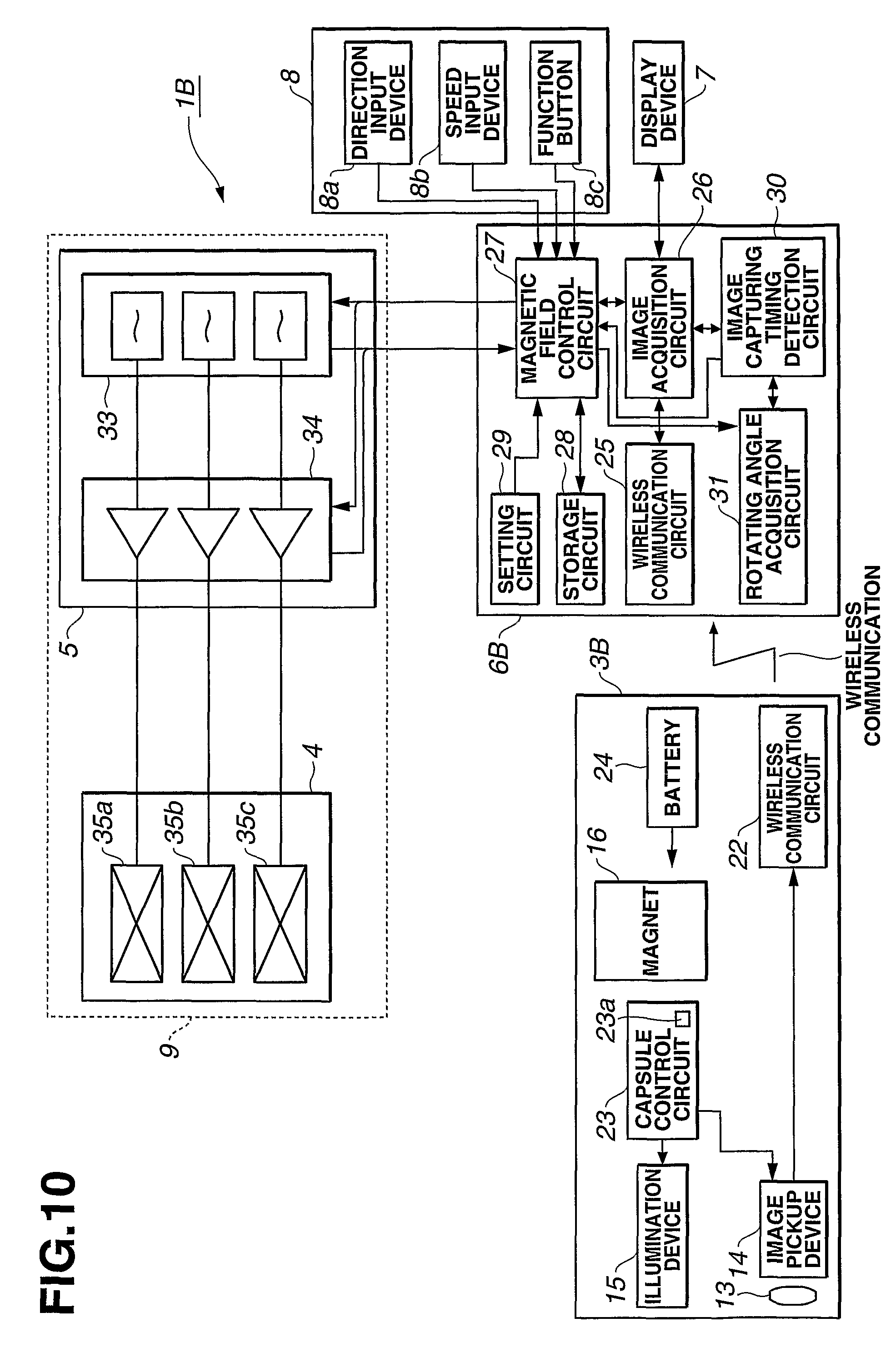 Patent Us8038600 Medical System Google Patents Geomagnetic Field Detector Circuit Drawing