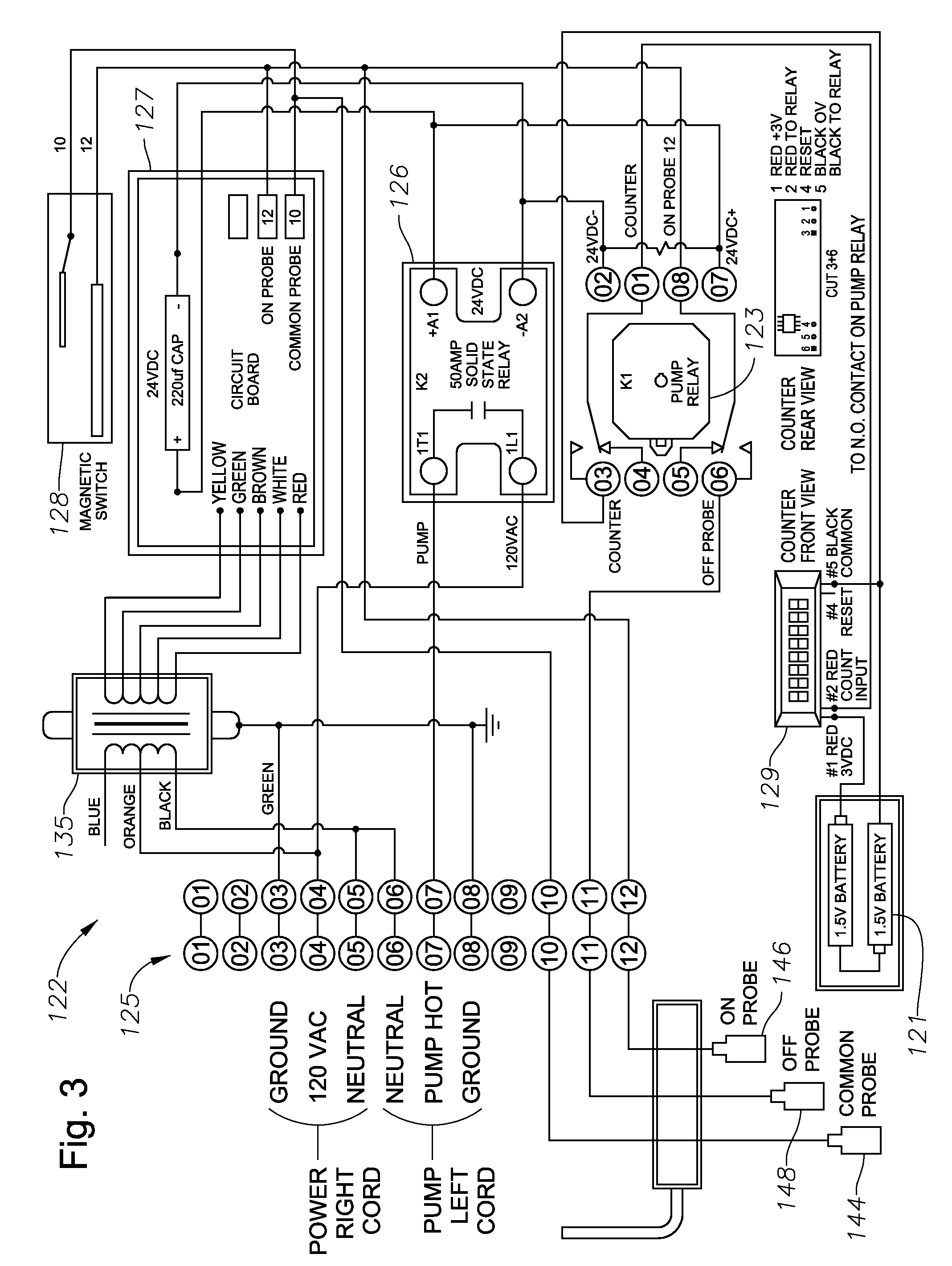 patent us8047805 - solid state sump pump control