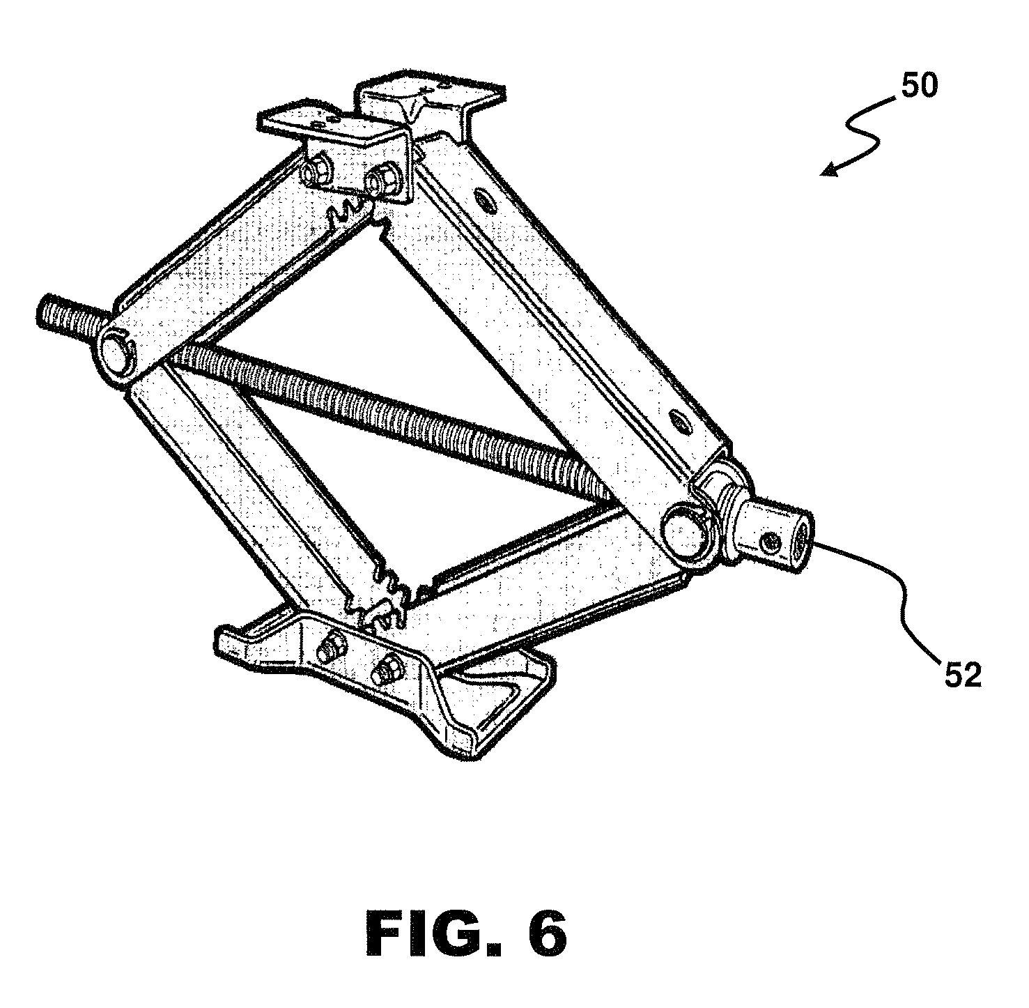 patent us8052125 - motor drive for a camper jack