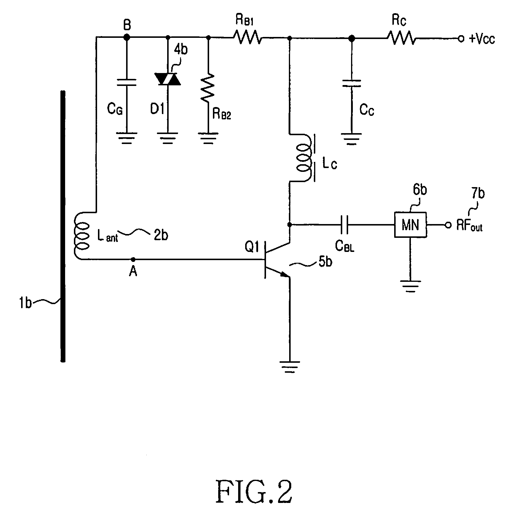 Patent Us8054235 Active Magnetic Antenna With Ferrite Core Rf Circuit Diagram Drawing