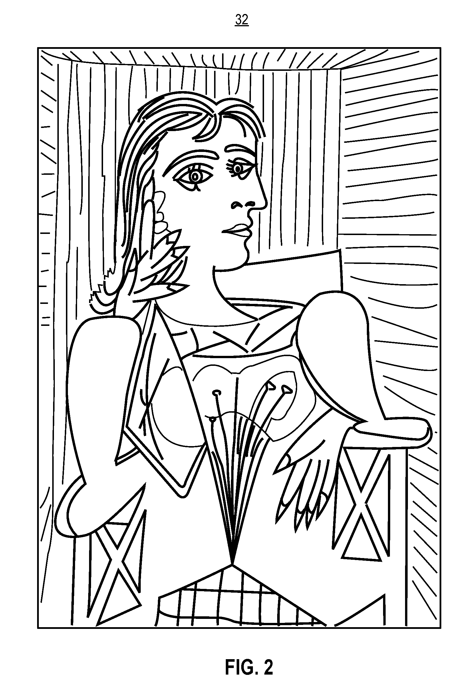 us coloring pages - pablo picasso free colouring pages