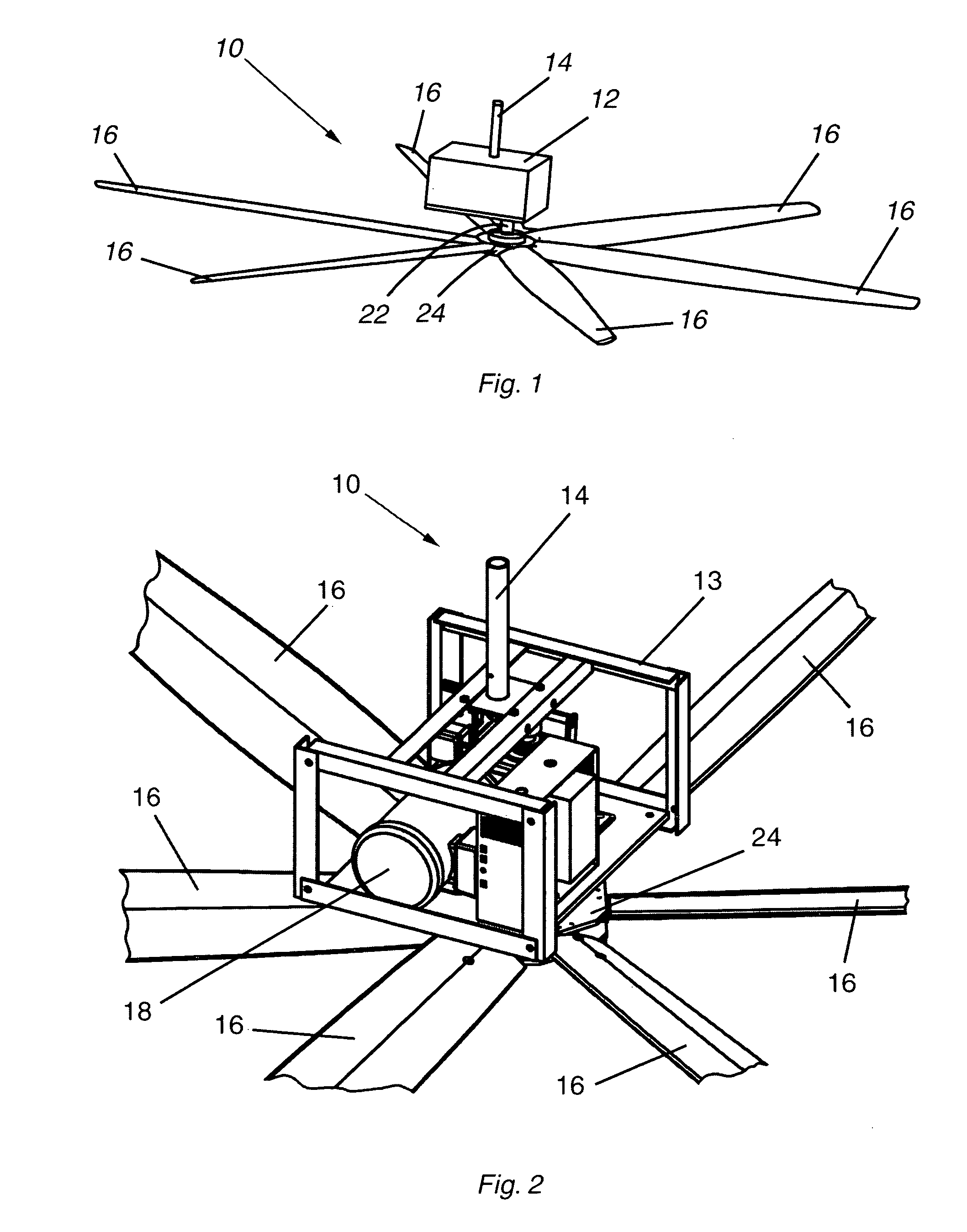 Patent Us8066480 High Volume Low Speed Fan Google Patents