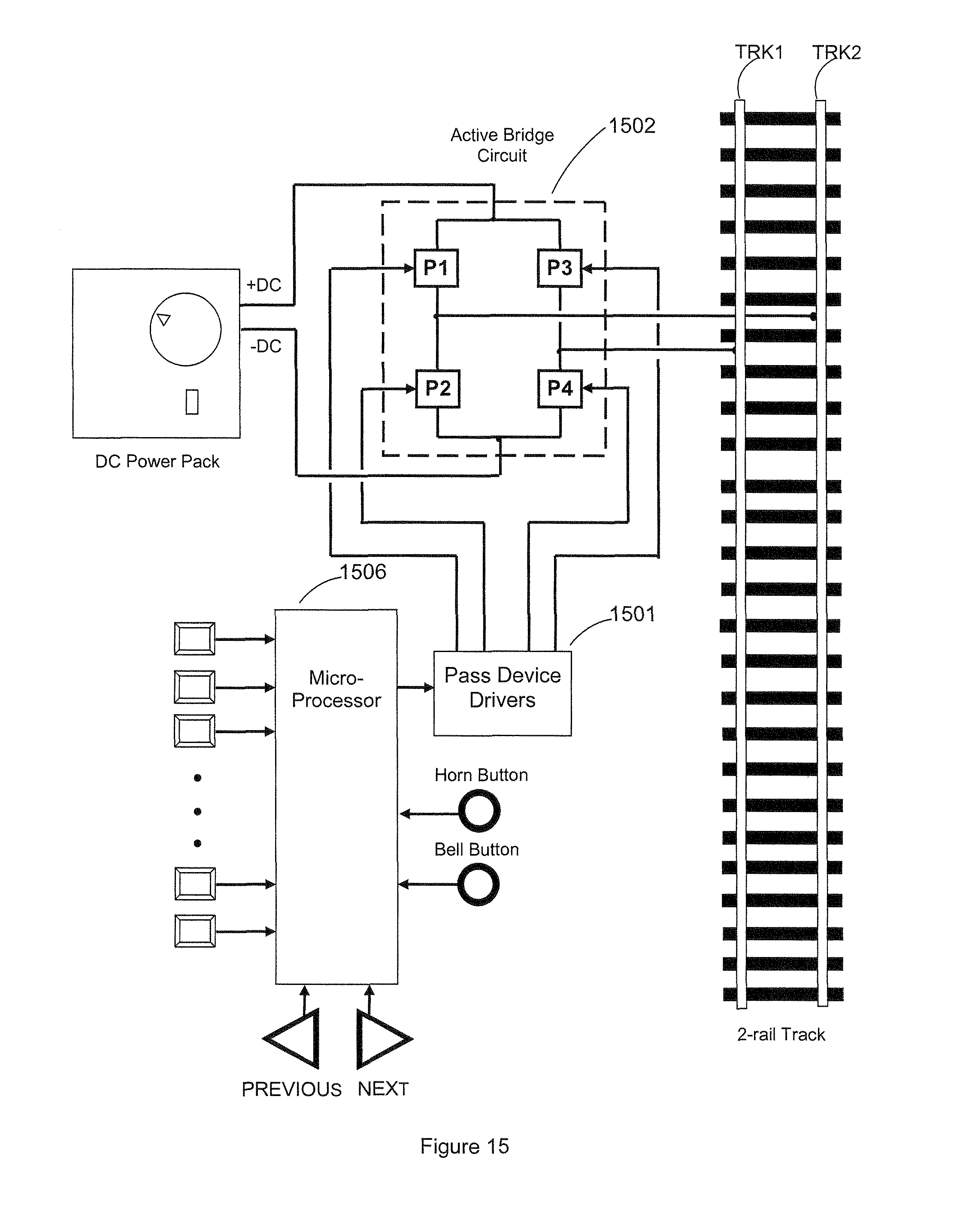 Patente Us8070108 Signaling And Remote Control Train Operation Adc0808 8211 Simple Analoque To Digital Converter Patent Drawing