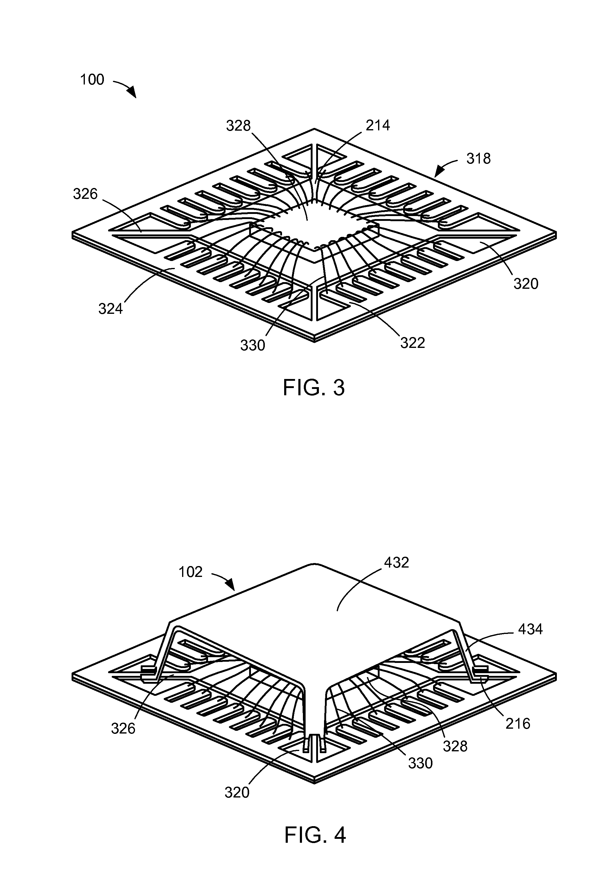 patent us8072047 - integrated circuit package system with shield and tie bar