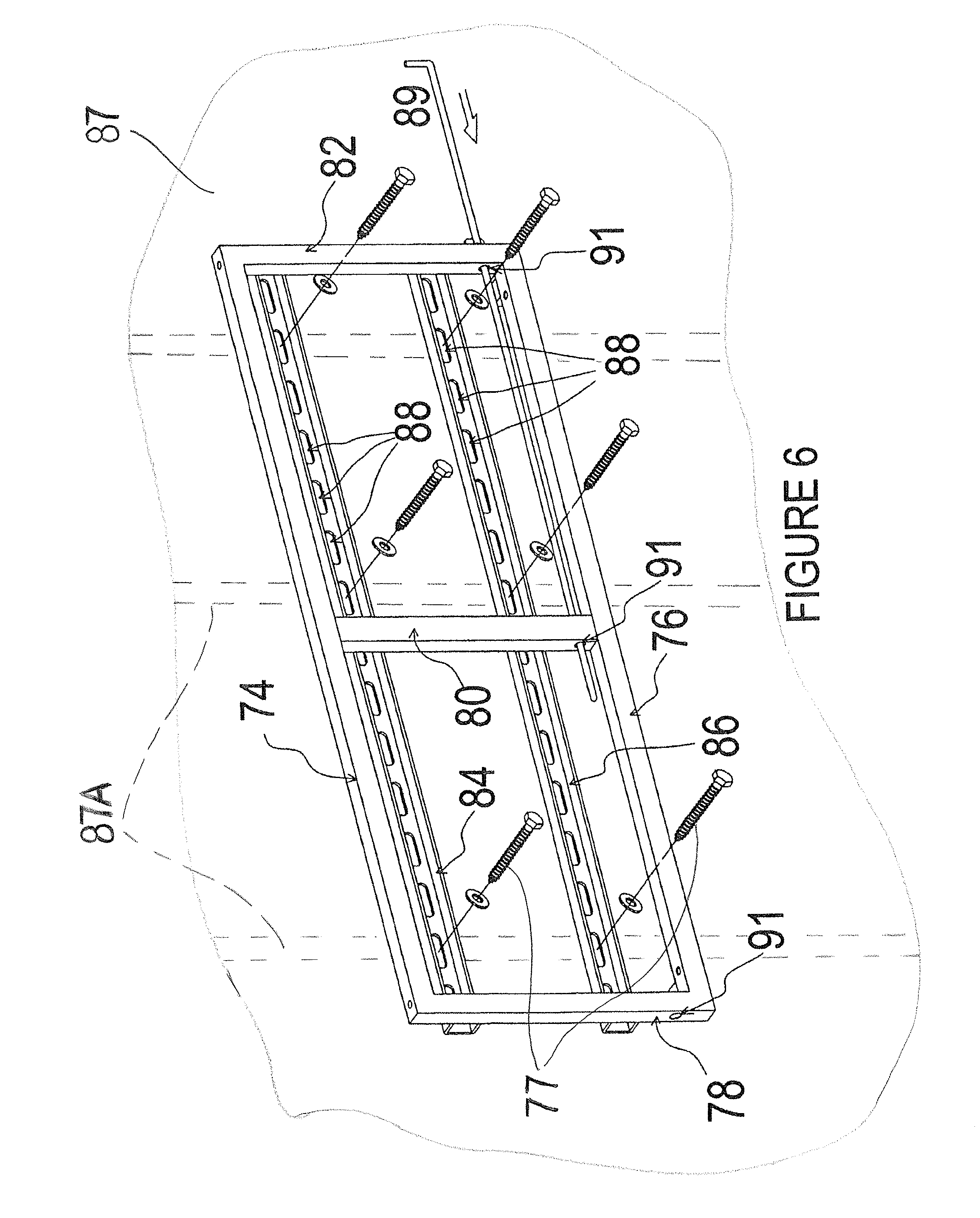 Patent Us8079311 Television Support And Mounting Kit