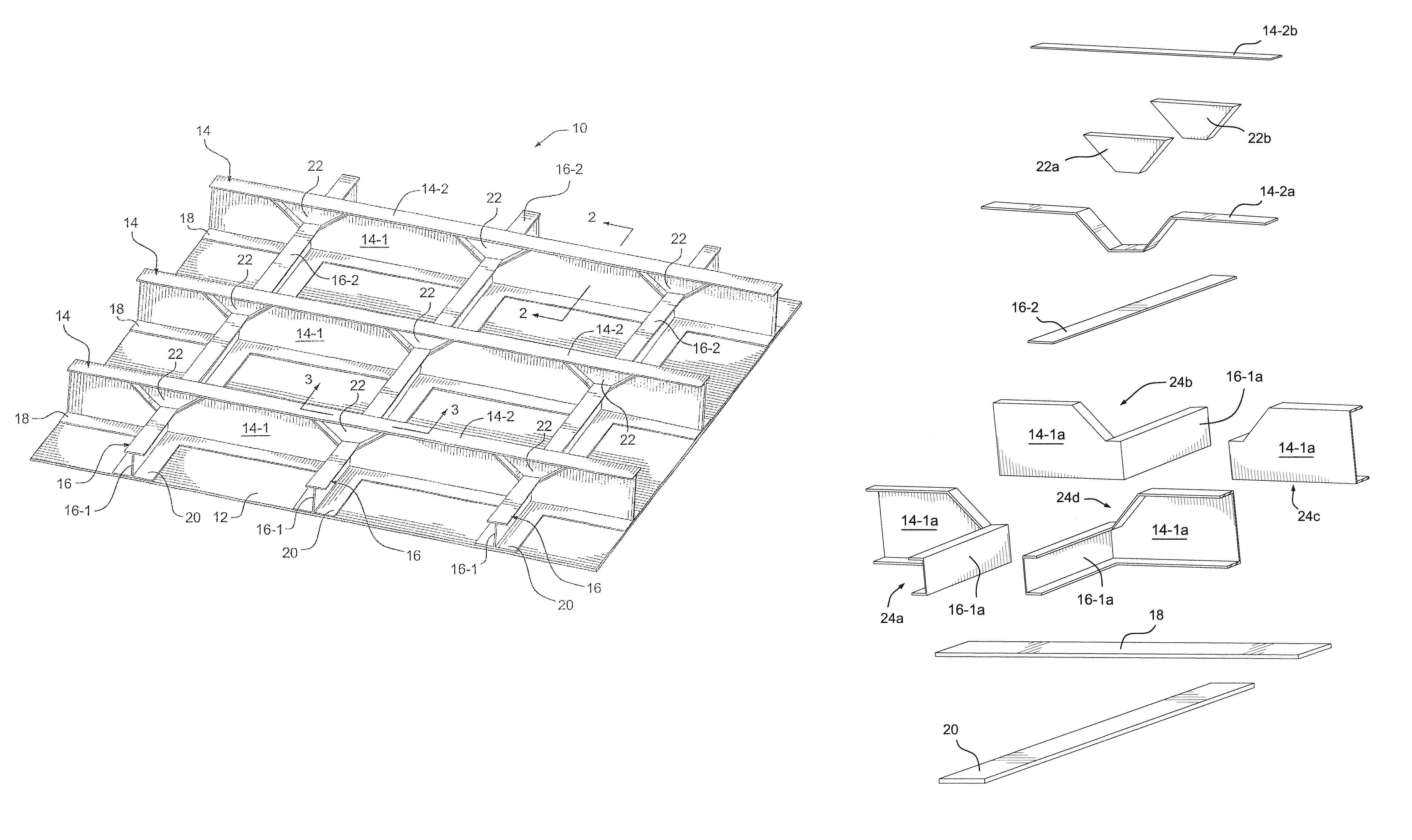 Patent US8079549 - Monolithic integrated structural panels ...