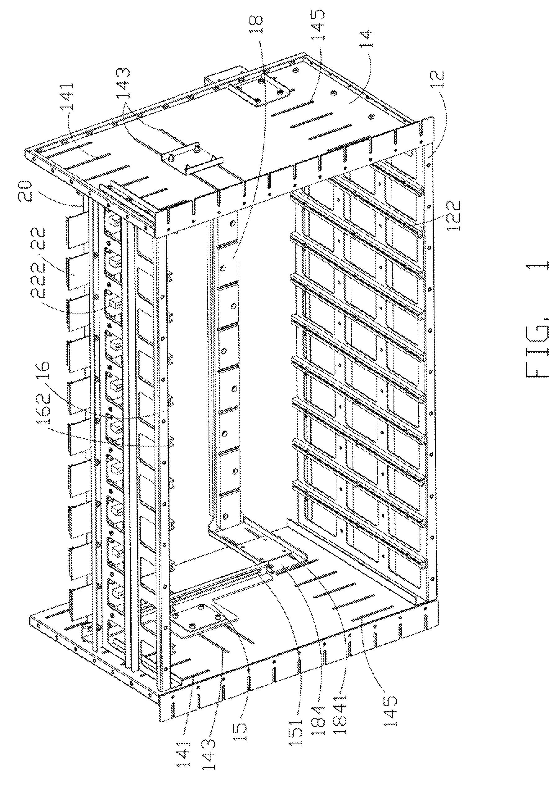 patent us8081009 - printed circuit board testing fixture