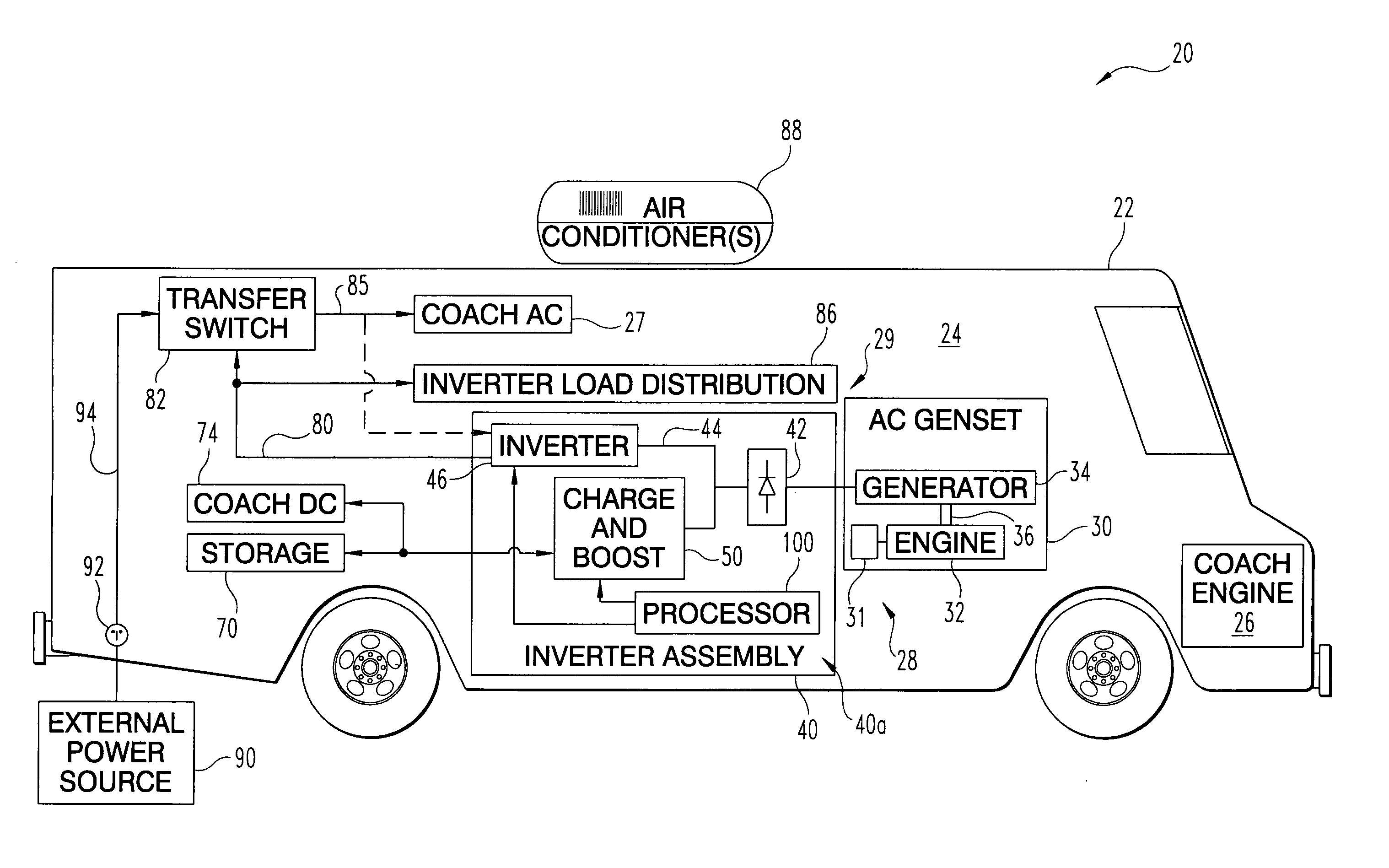 Patent Us8085002 Shore Power Transfer Switch Google Patents Auto Wiring Diagram Besides Automatic Drawing