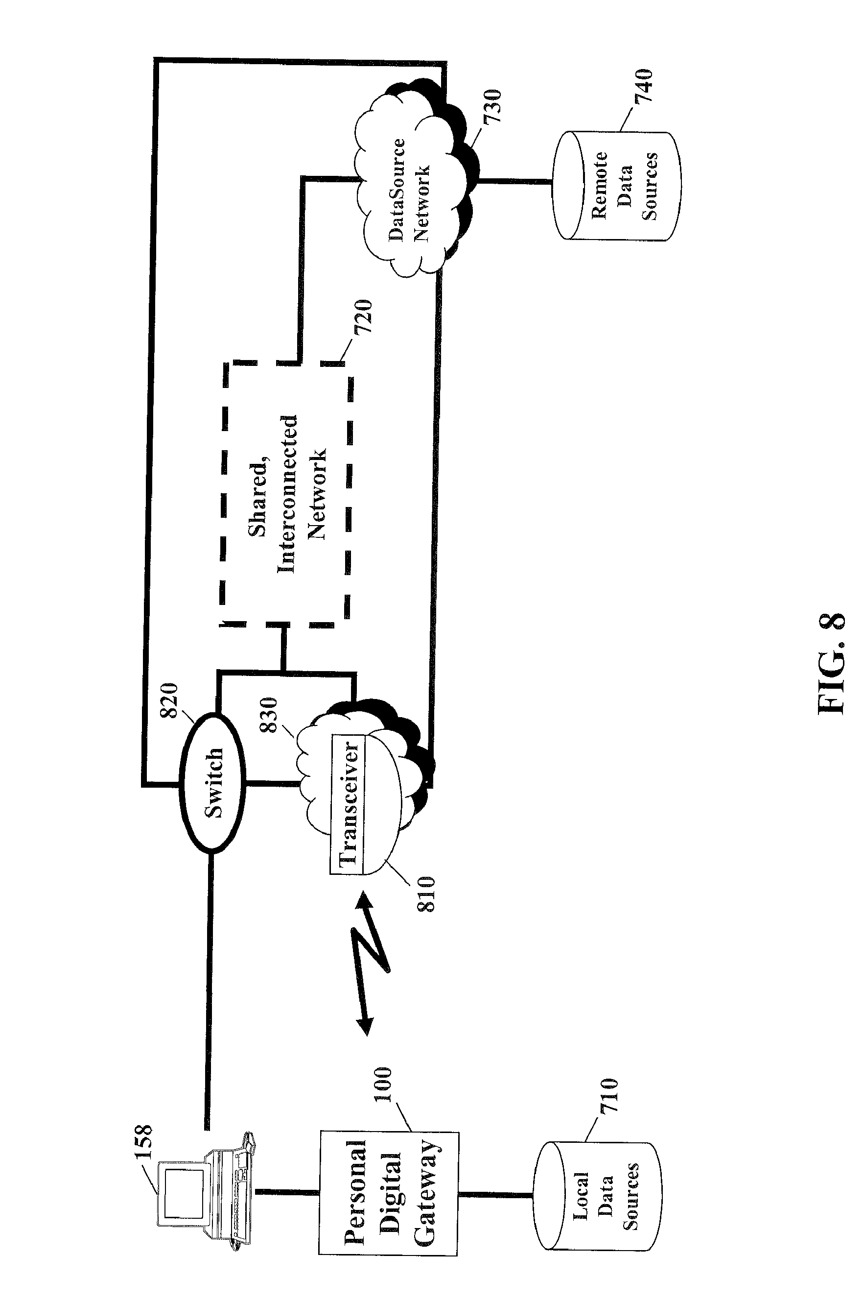 Patent Us8085796 Methods Systems And Products For Virtual Logic Diagram Of 8085 Drawing