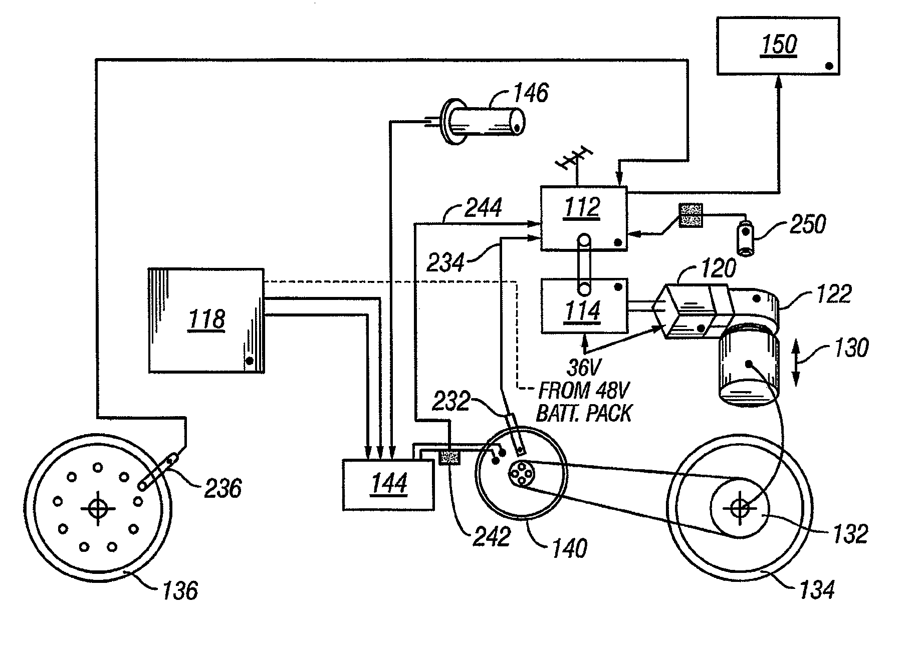 patent us8087482 - wheelchair
