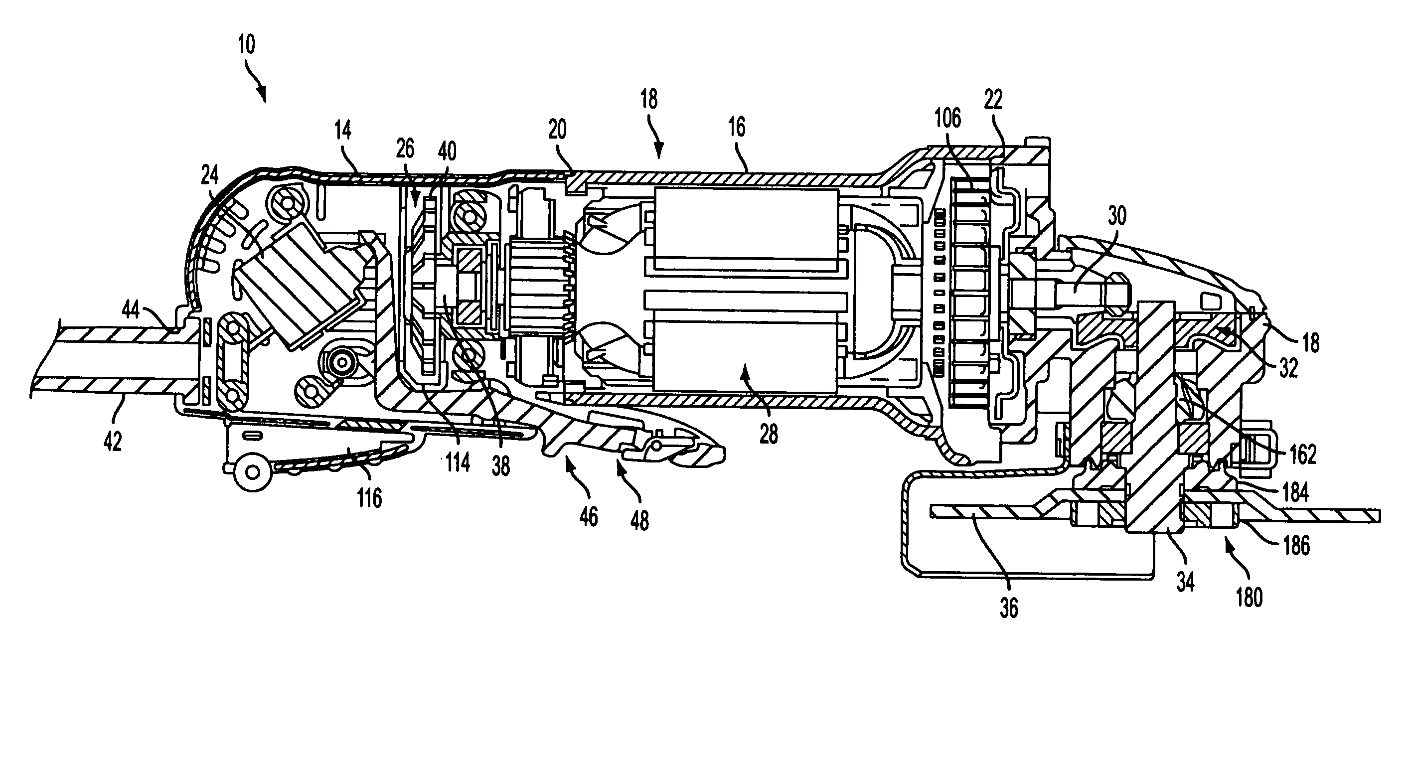 patent us8087977 - angle grinder