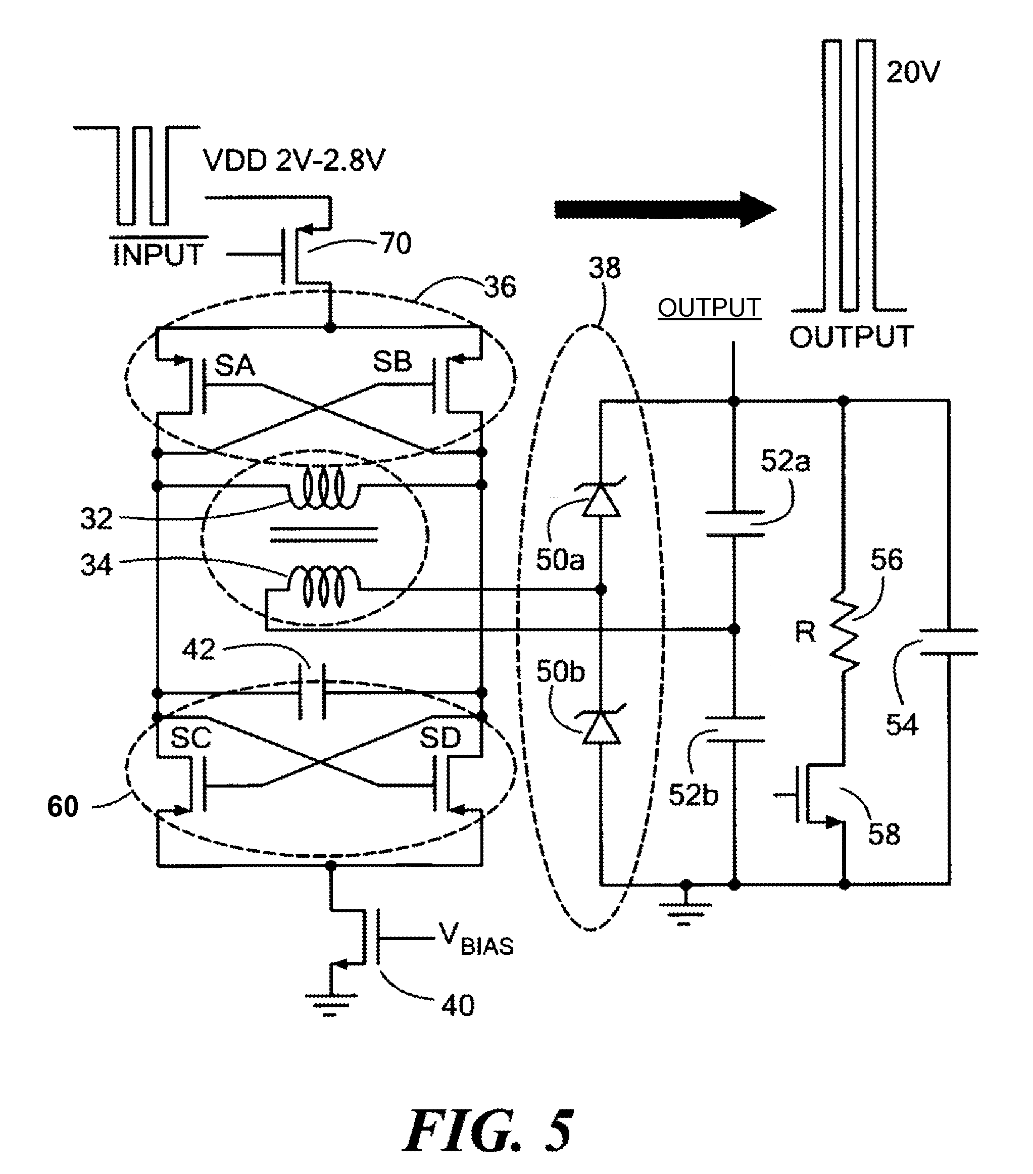 patent us8089311 - signal amplifier