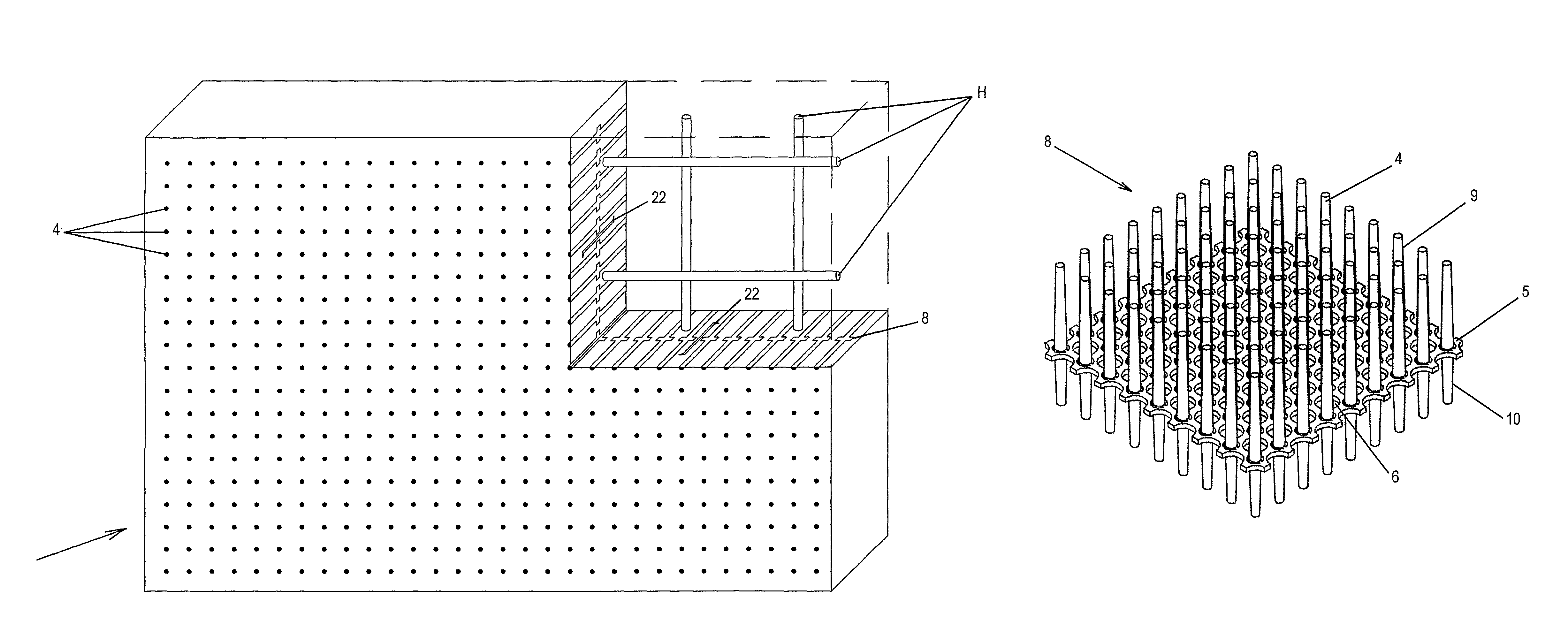Light Transmitting Concrete Patent Us8091303 Translucent Building Block And A Method For