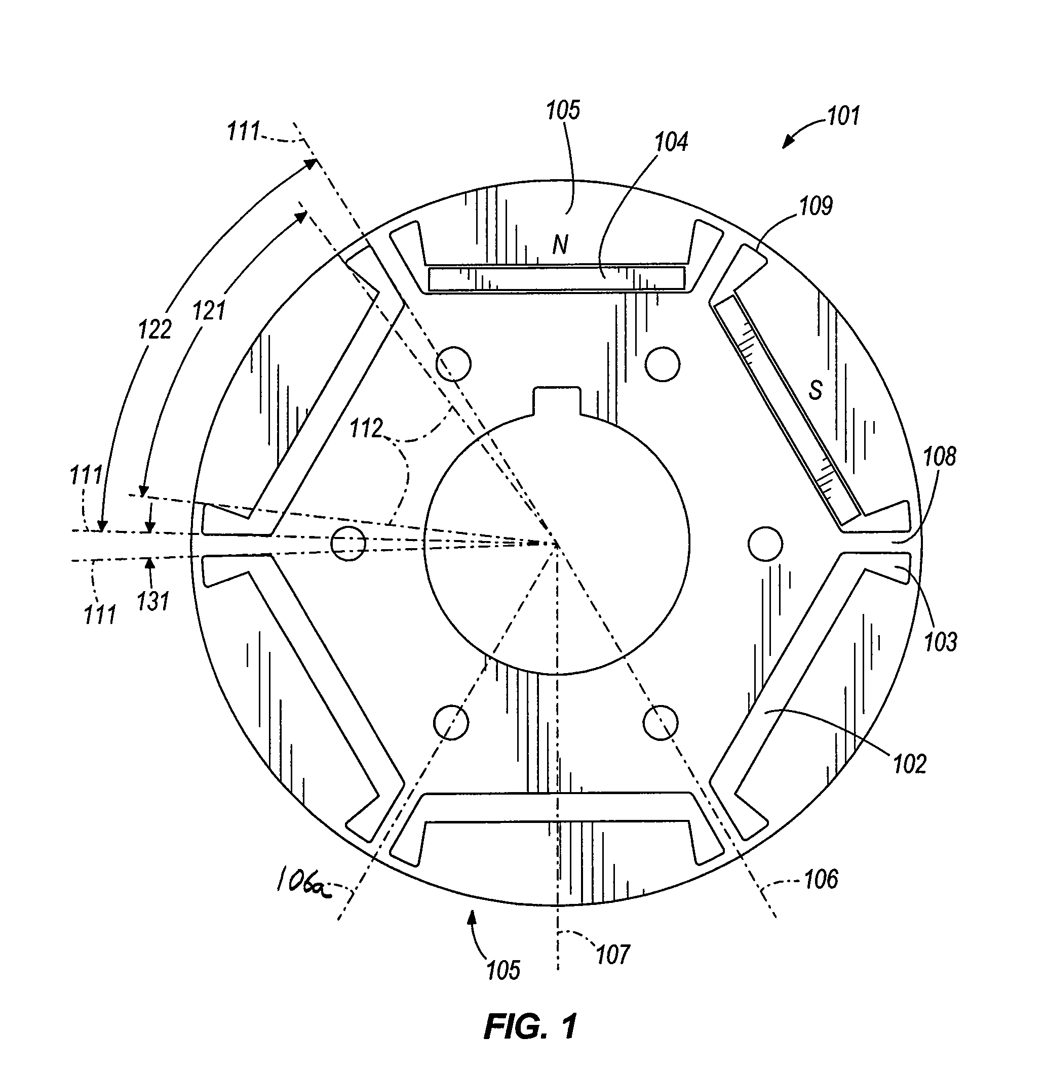 Patent Us8102091 Interior Permanent Magnet Motor Including Rotor With Unequal Poles Google