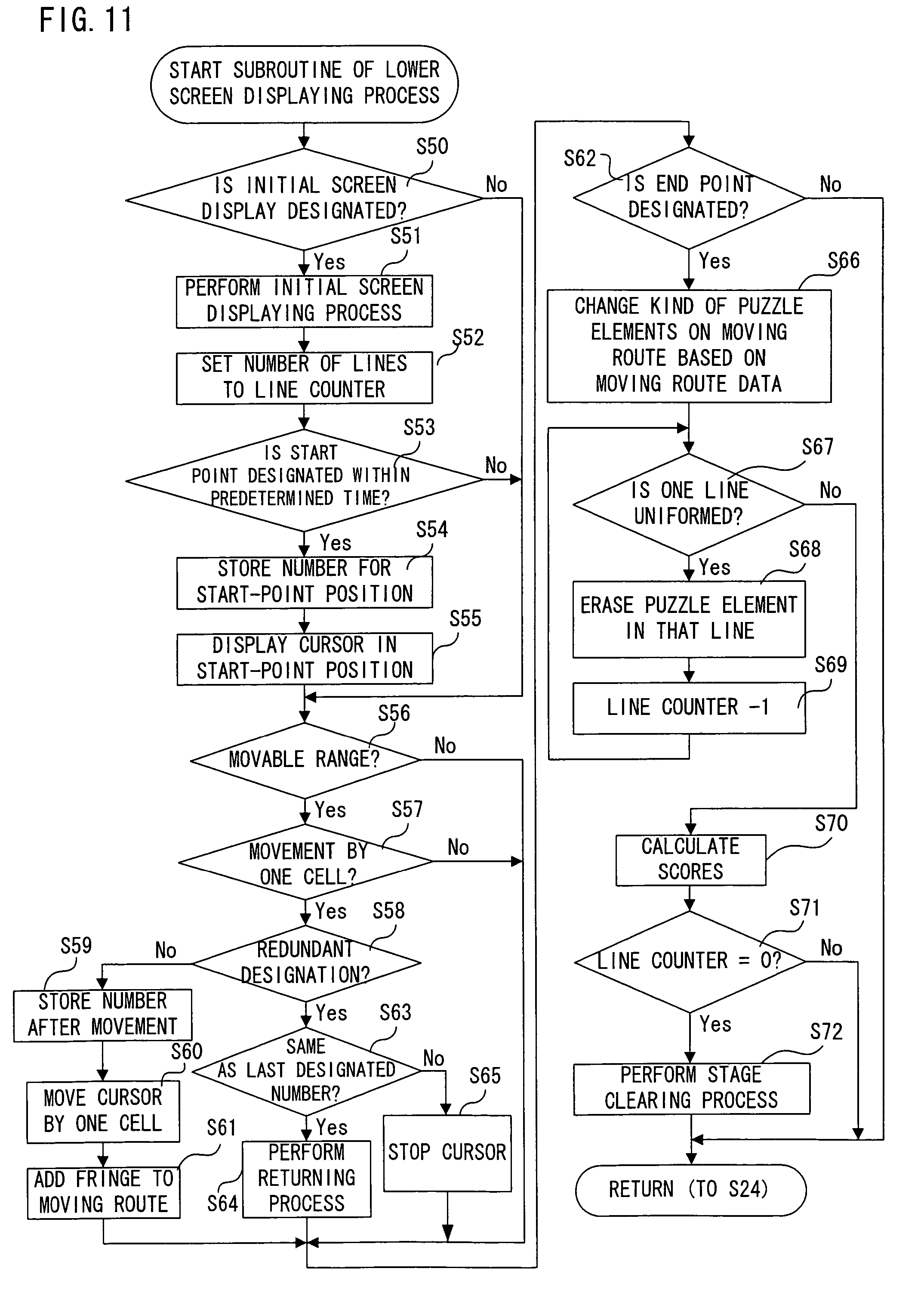 Patent US8105143 - Puzzle elements displaying game ...