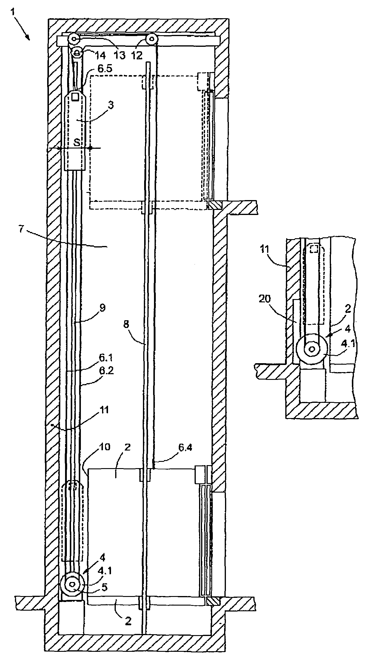 Patent Us8109367 Counterweight And Suspension For An