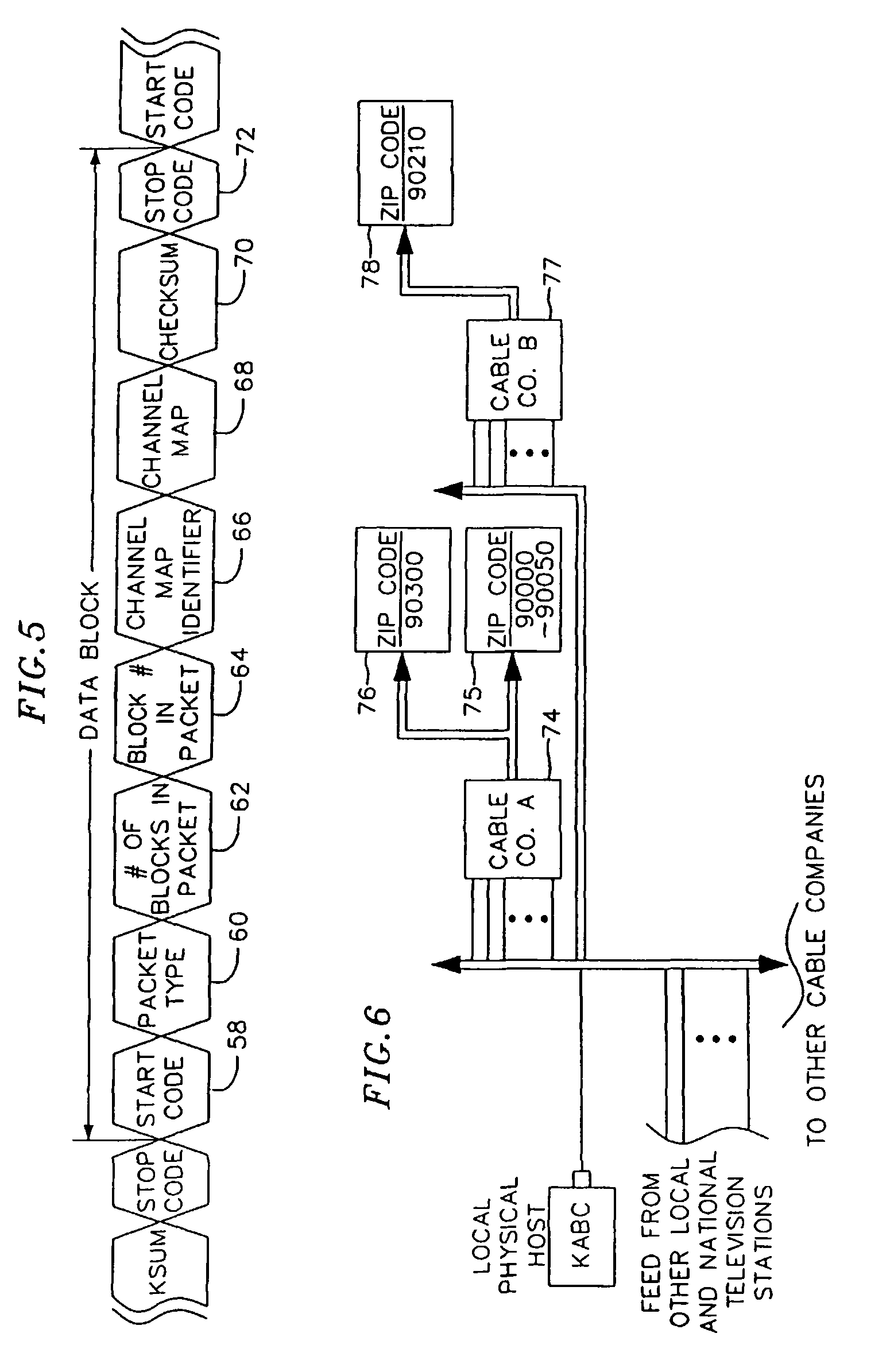 Patente US Method And Apparatus For Transmitting And - Us zip code type