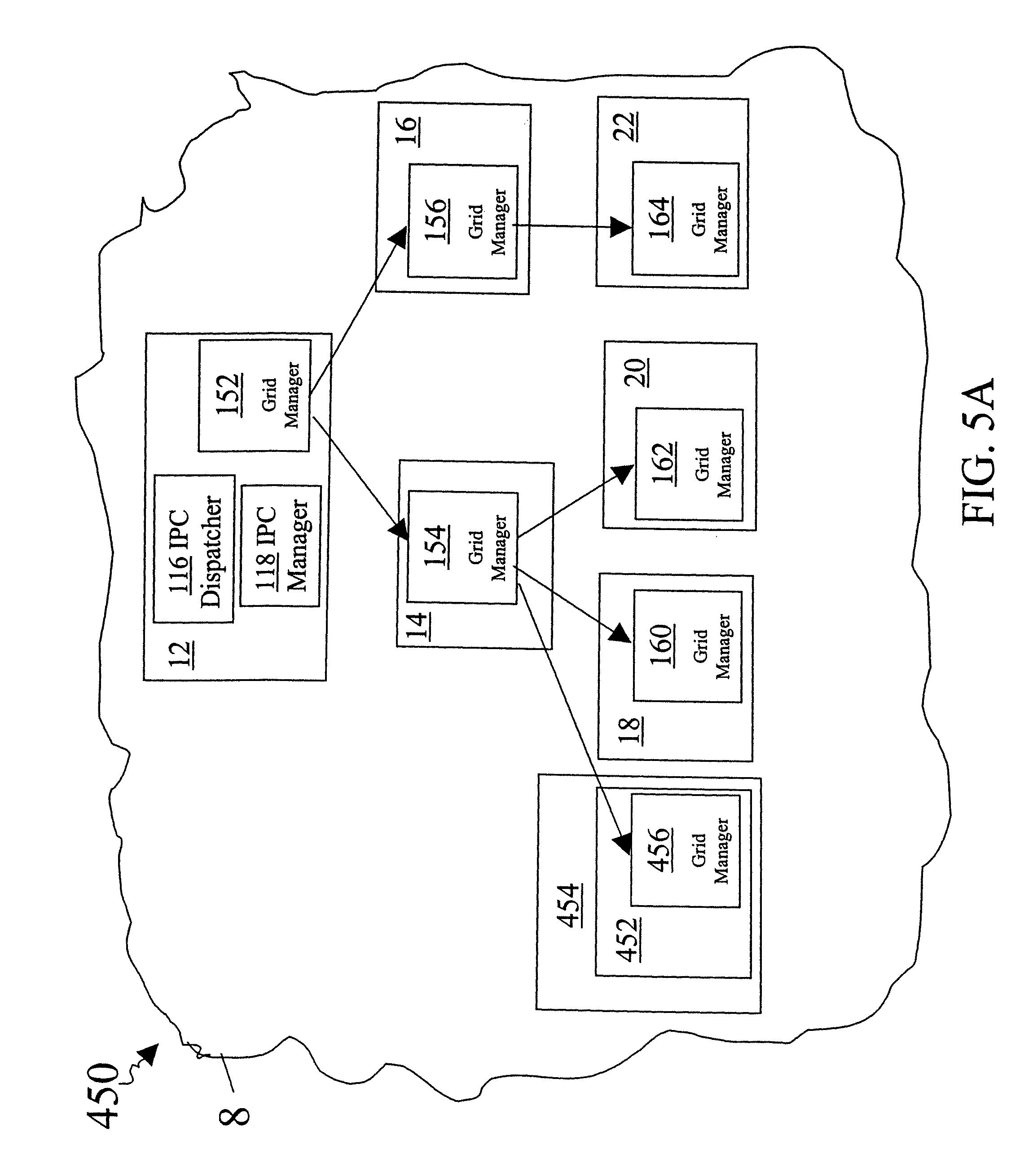 patent us8135841 method and system for maintaining a grid Case Manager Resume Objectives patent drawing