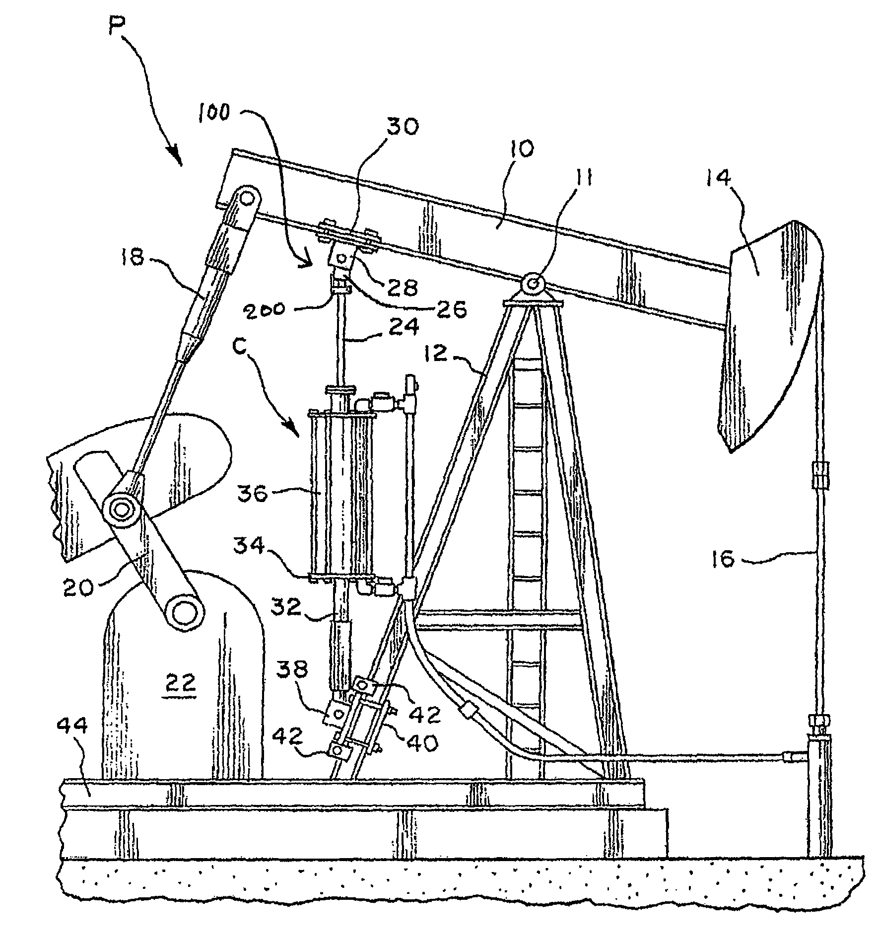 oil pumpjack diagram  oil  free engine image for user