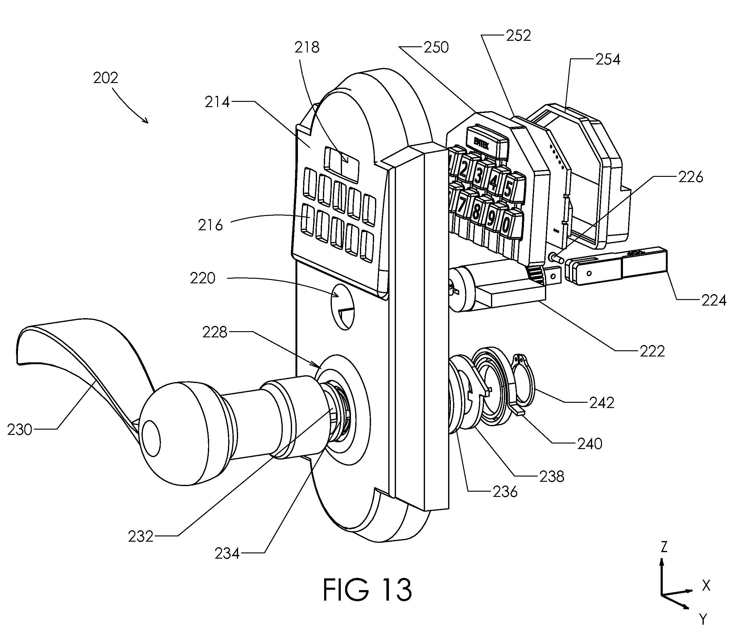 patent us8141400 - keypad lockset